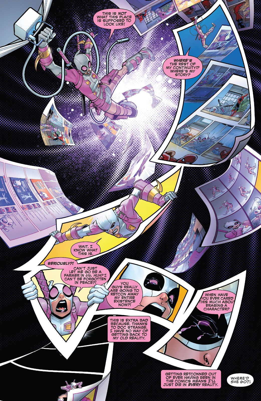 Gwenpool Strikes Back issue 1 - Page 17