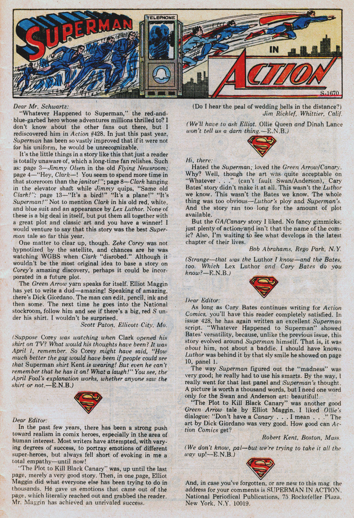 Read online Action Comics (1938) comic -  Issue #432 - 32