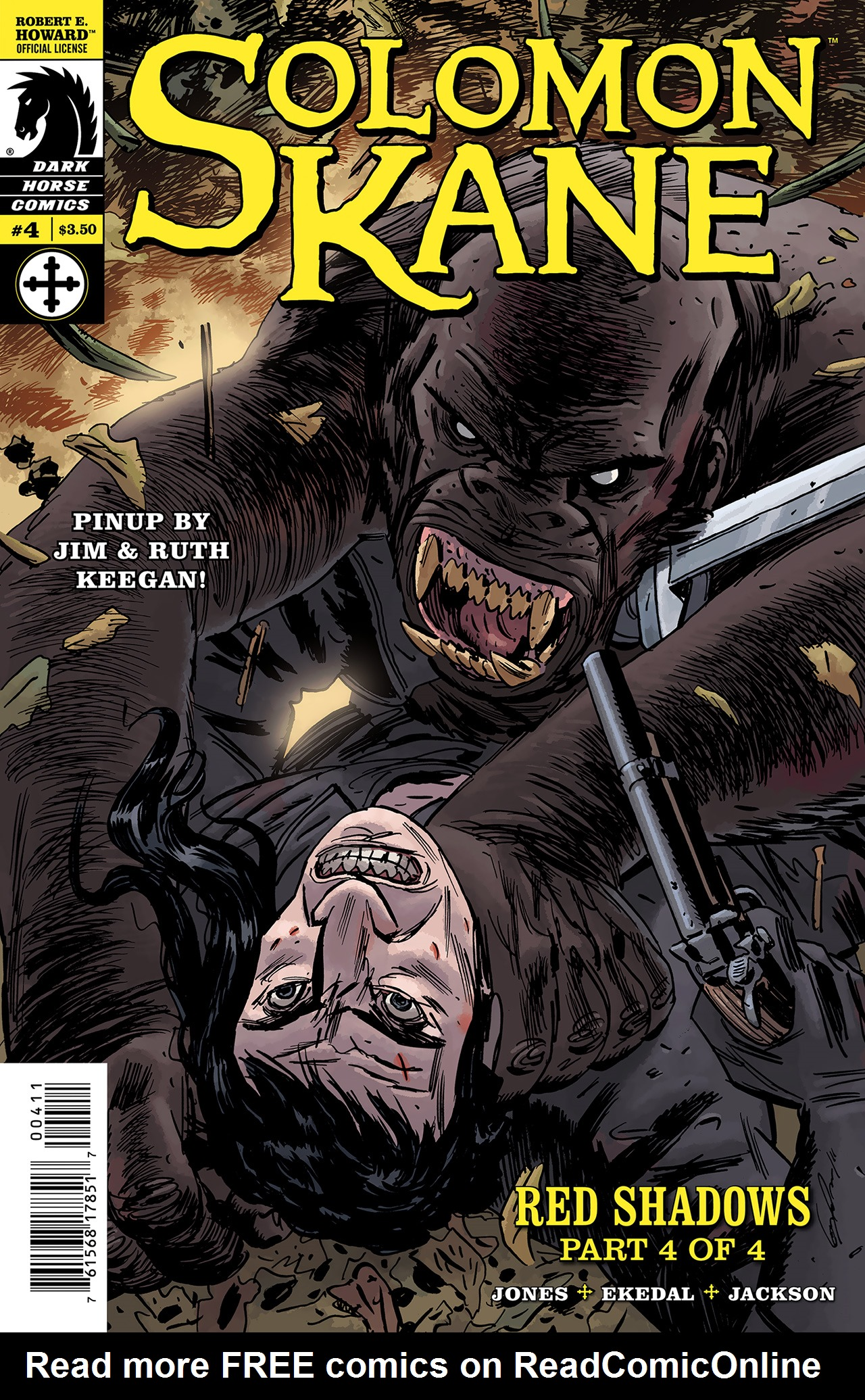 Read online Solomon Kane: Red Shadows comic -  Issue #4 - 1