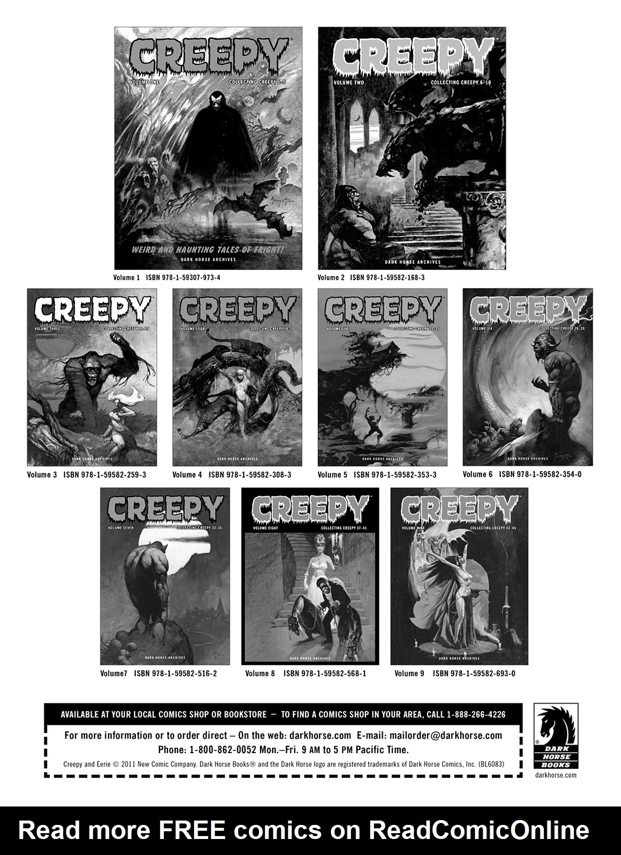 Read online Eerie Archives comic -  Issue # TPB 6 - 245