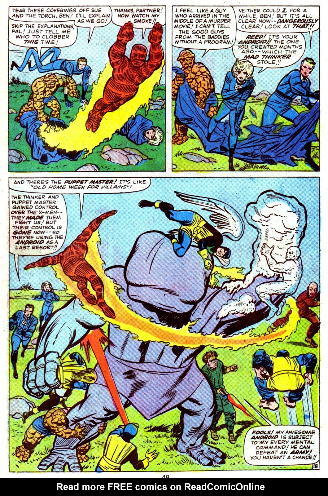 Giant-Size Fantastic Four issue 4 - Page 51