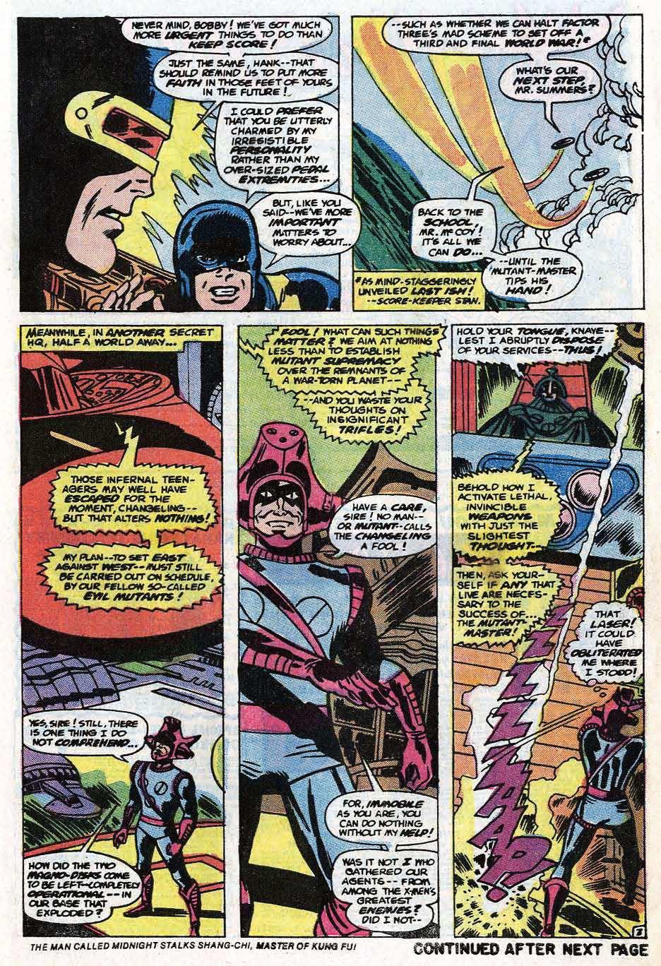 Uncanny X-Men (1963) 86 Page 4
