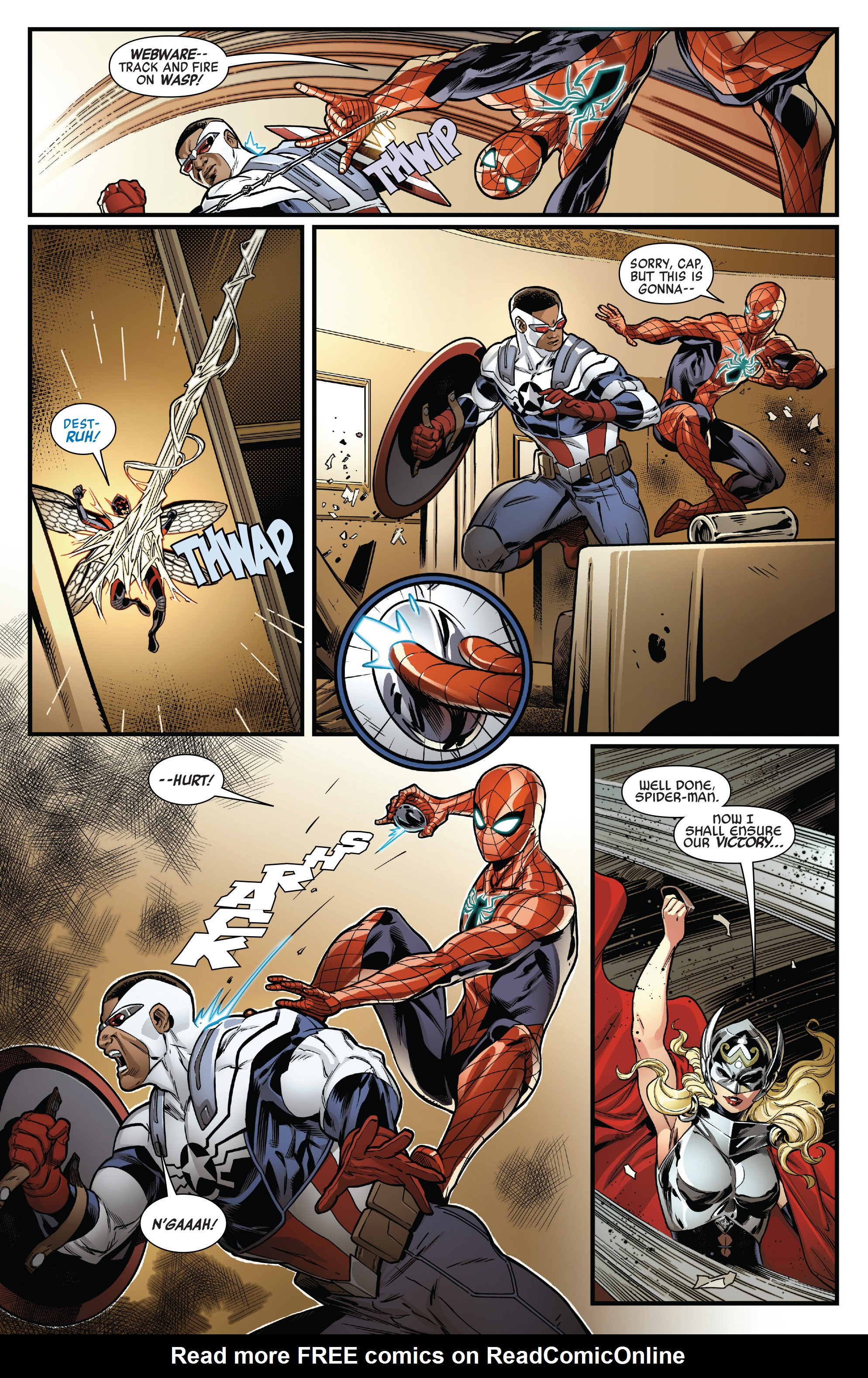 Read online Avengers (2016) comic -  Issue #1.MU - 14
