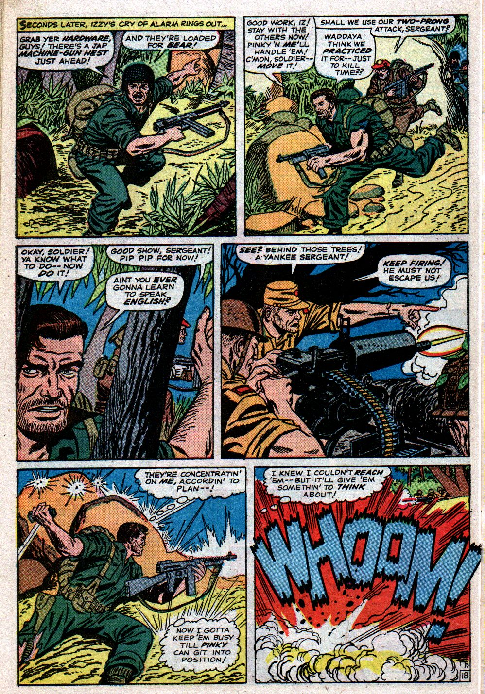 Read online Sgt. Fury comic -  Issue #23 - 26
