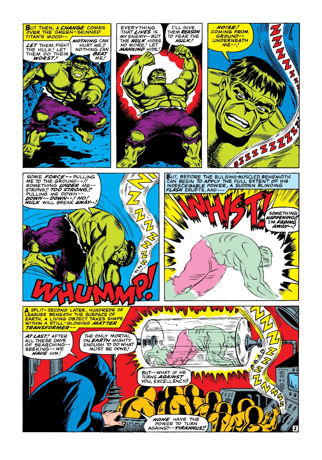 Read online Marvel Masterworks: The Incredible Hulk comic -  Issue # TPB 3 (Part 1) - 9