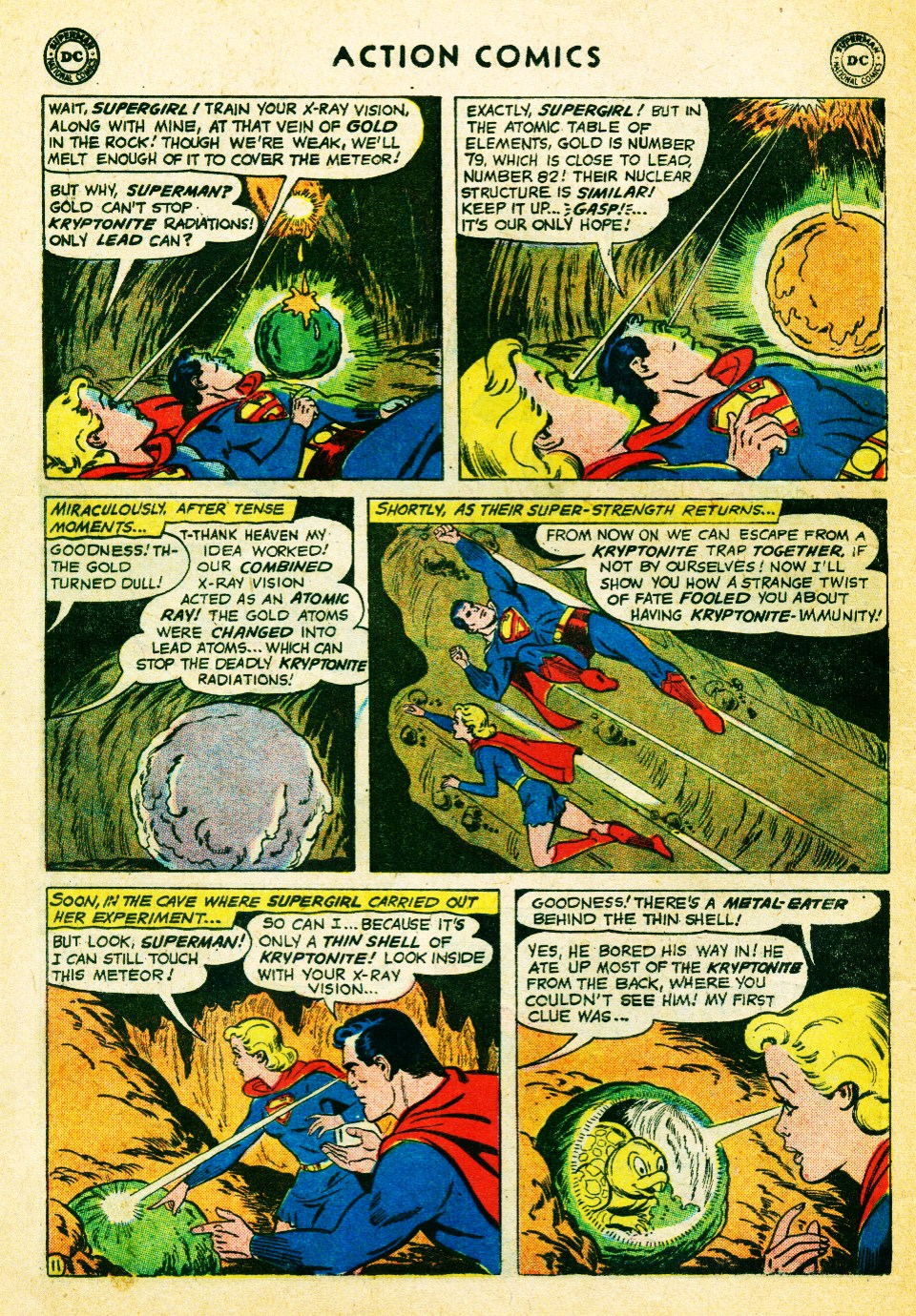 Read online Action Comics (1938) comic -  Issue #262 - 30