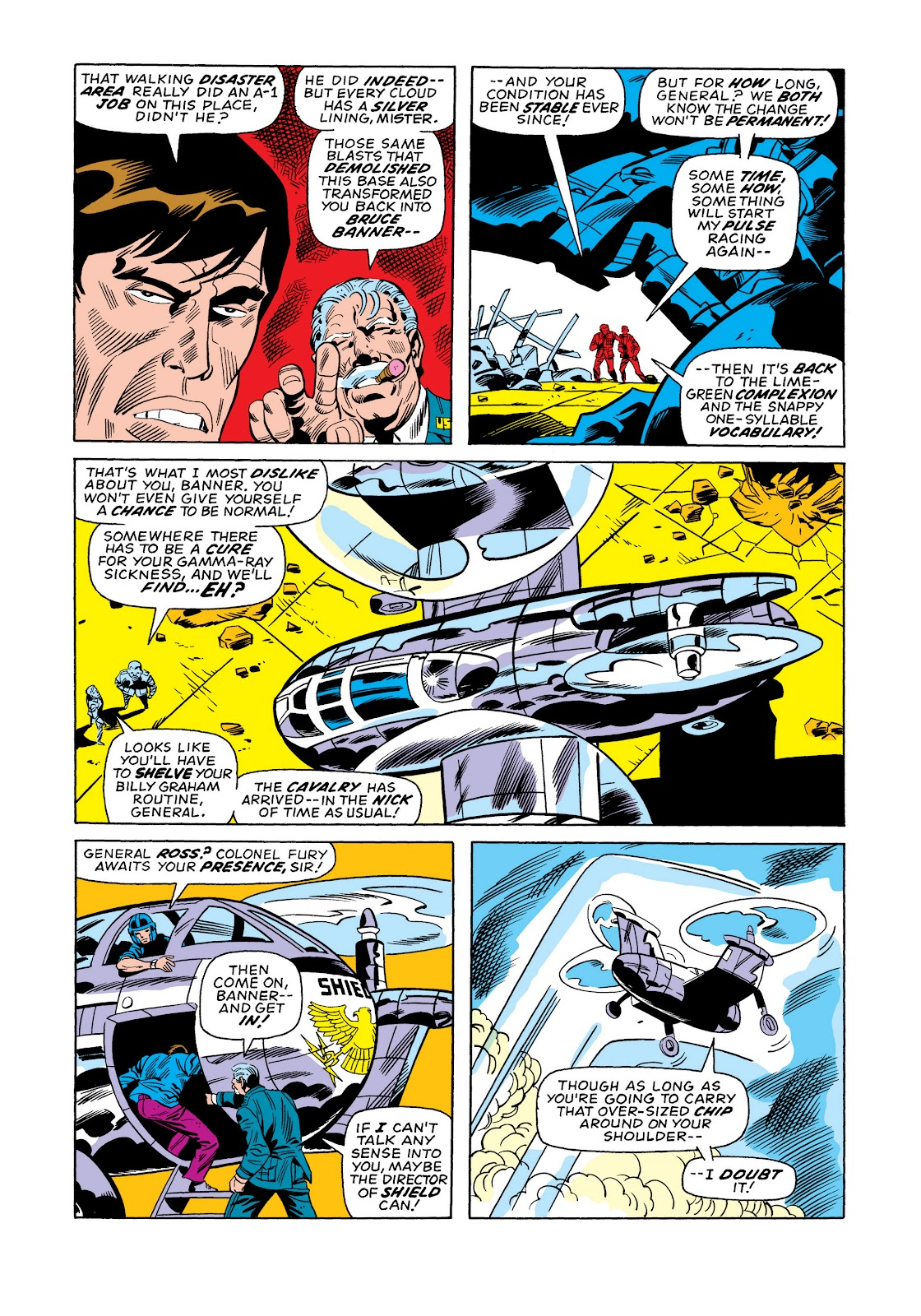 Read online Marvel Masterworks: The Incredible Hulk comic -  Issue # TPB 11 (Part 1) - 65