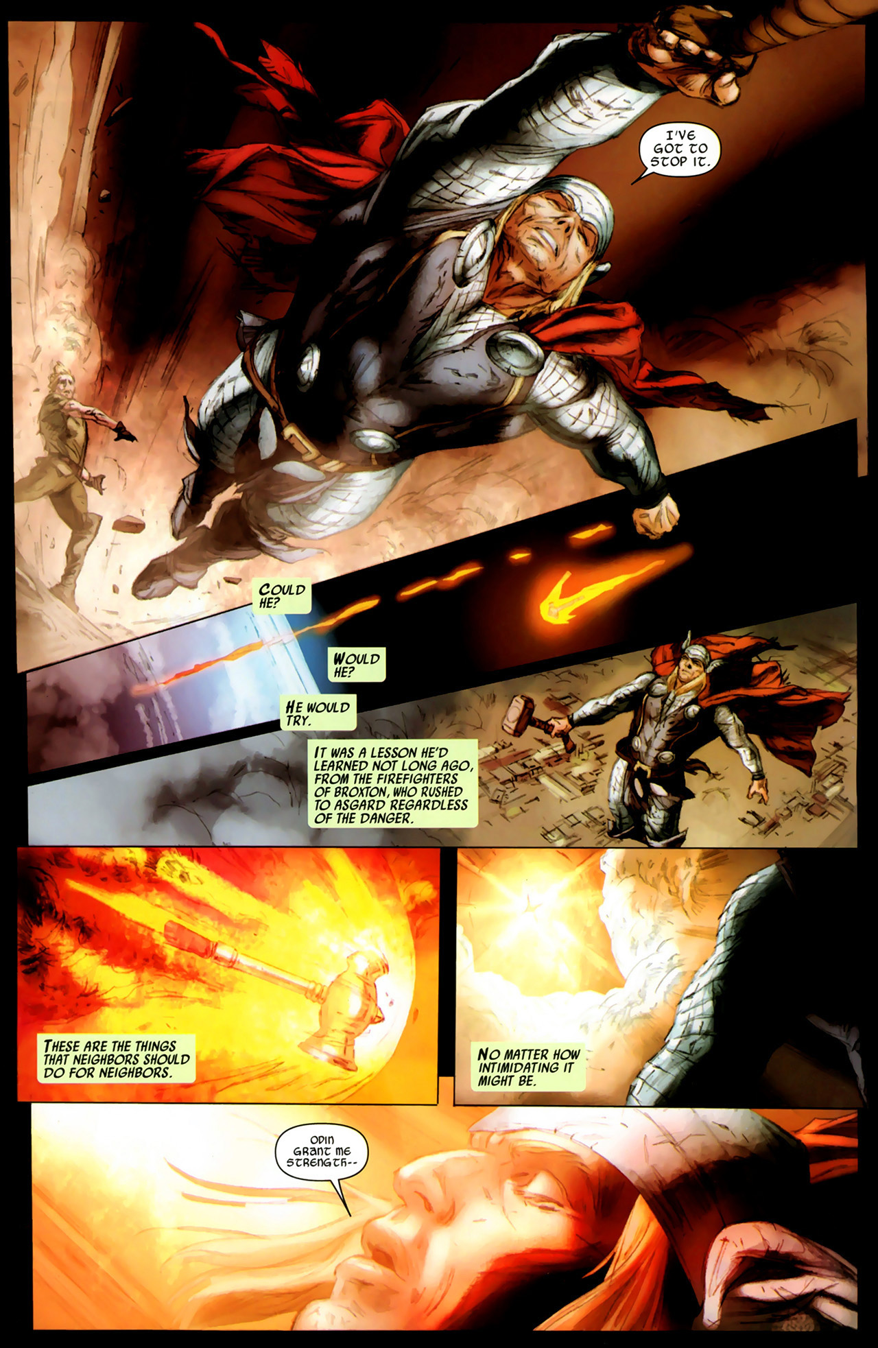 Read online Secret Invasion: Thor comic -  Issue #3 - 13