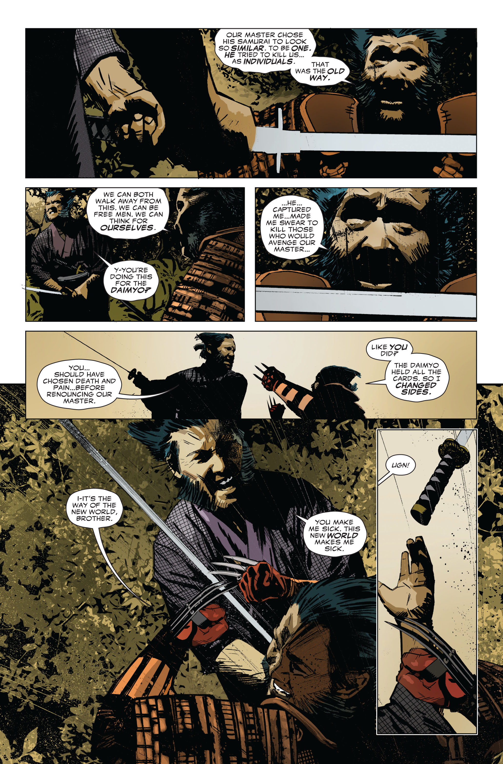 Read online 5 Ronin (2011) comic -  Issue #1 - 21