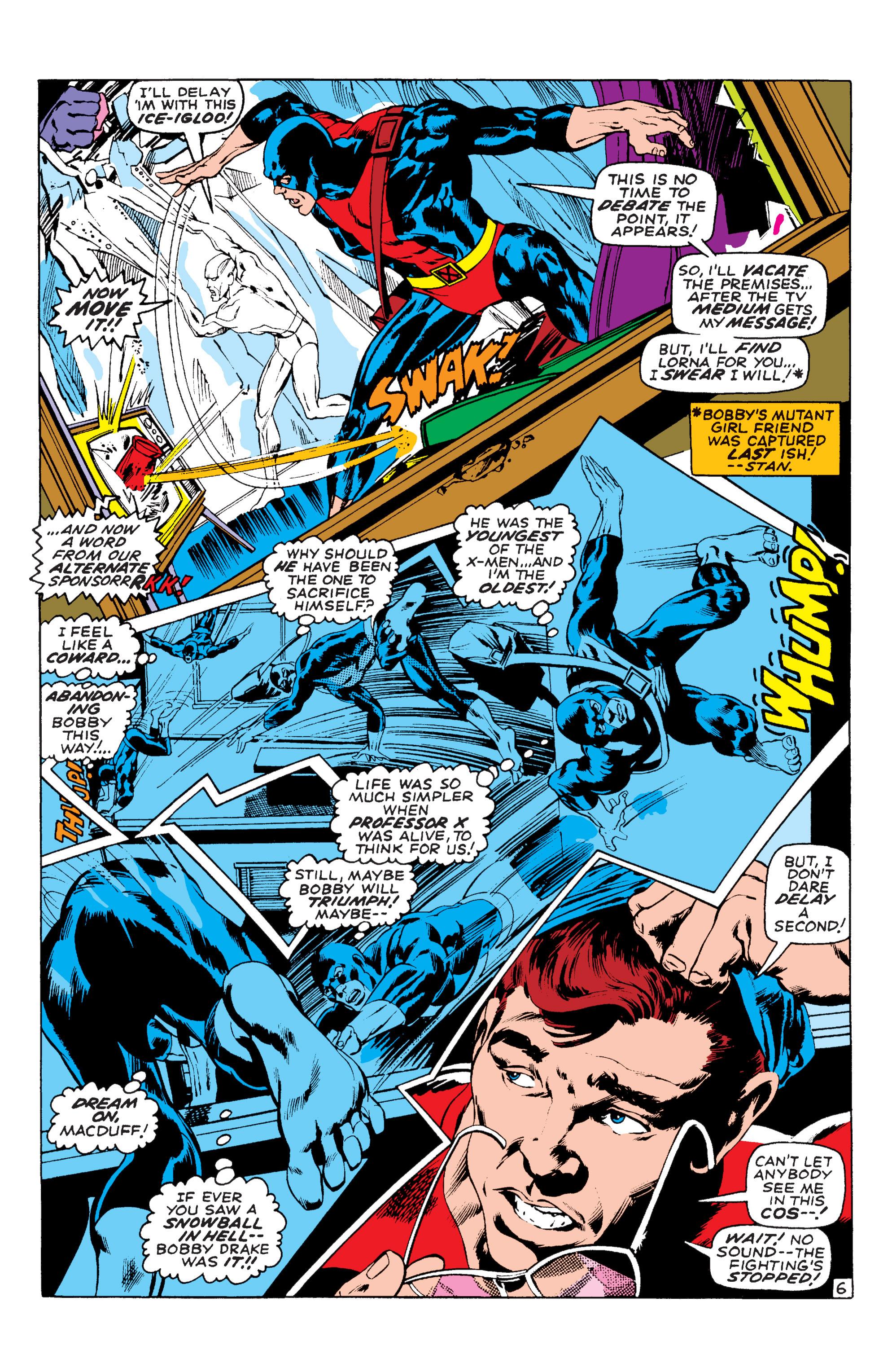 Read online Uncanny X-Men (1963) comic -  Issue #58 - 6