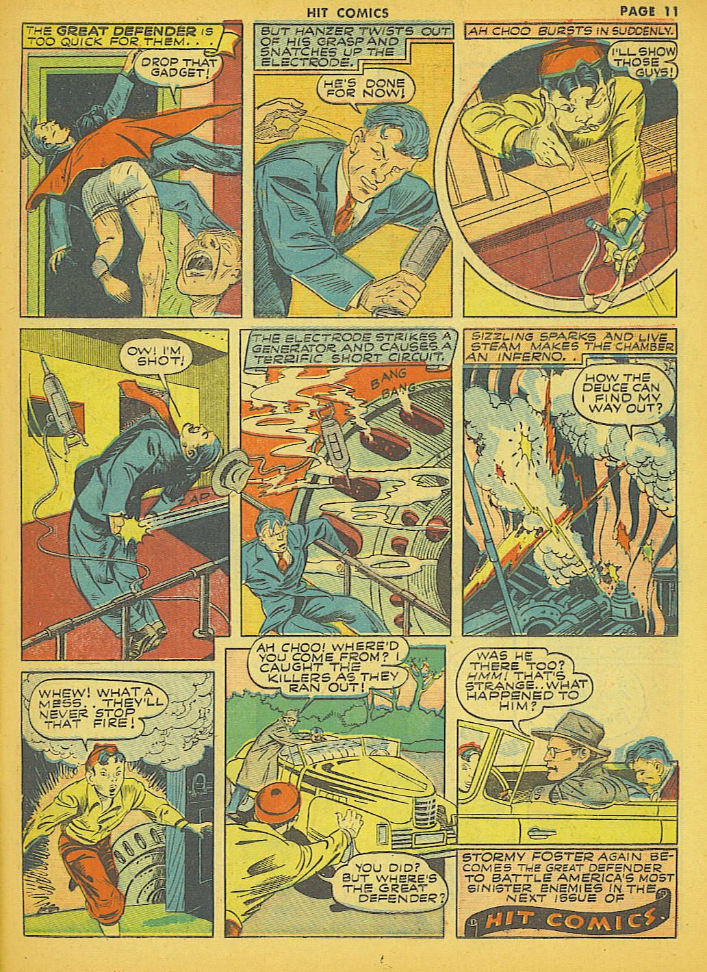 Read online Hit Comics comic -  Issue #21 - 13