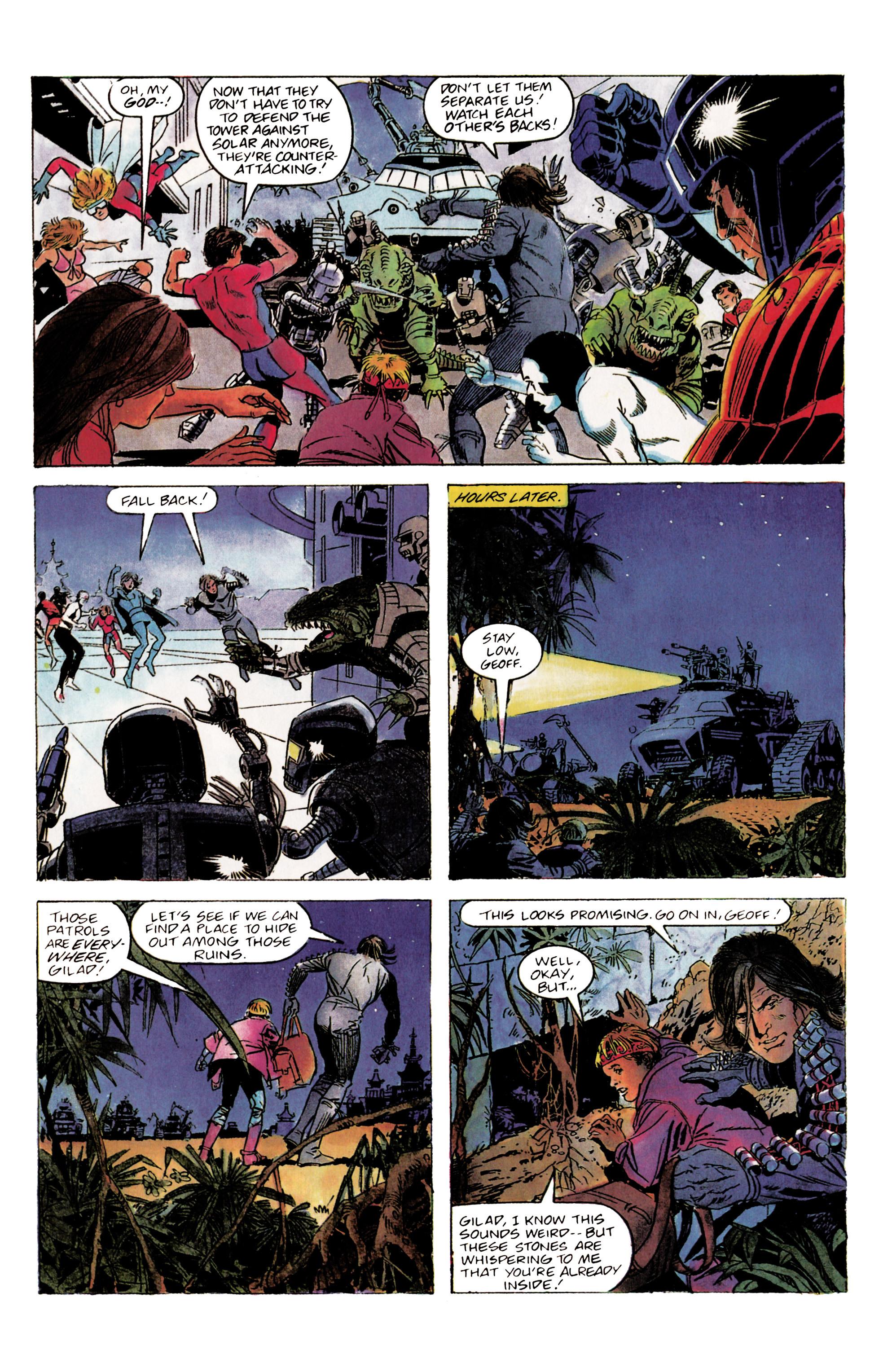 Read online Eternal Warrior (1992) comic -  Issue #2 - 6