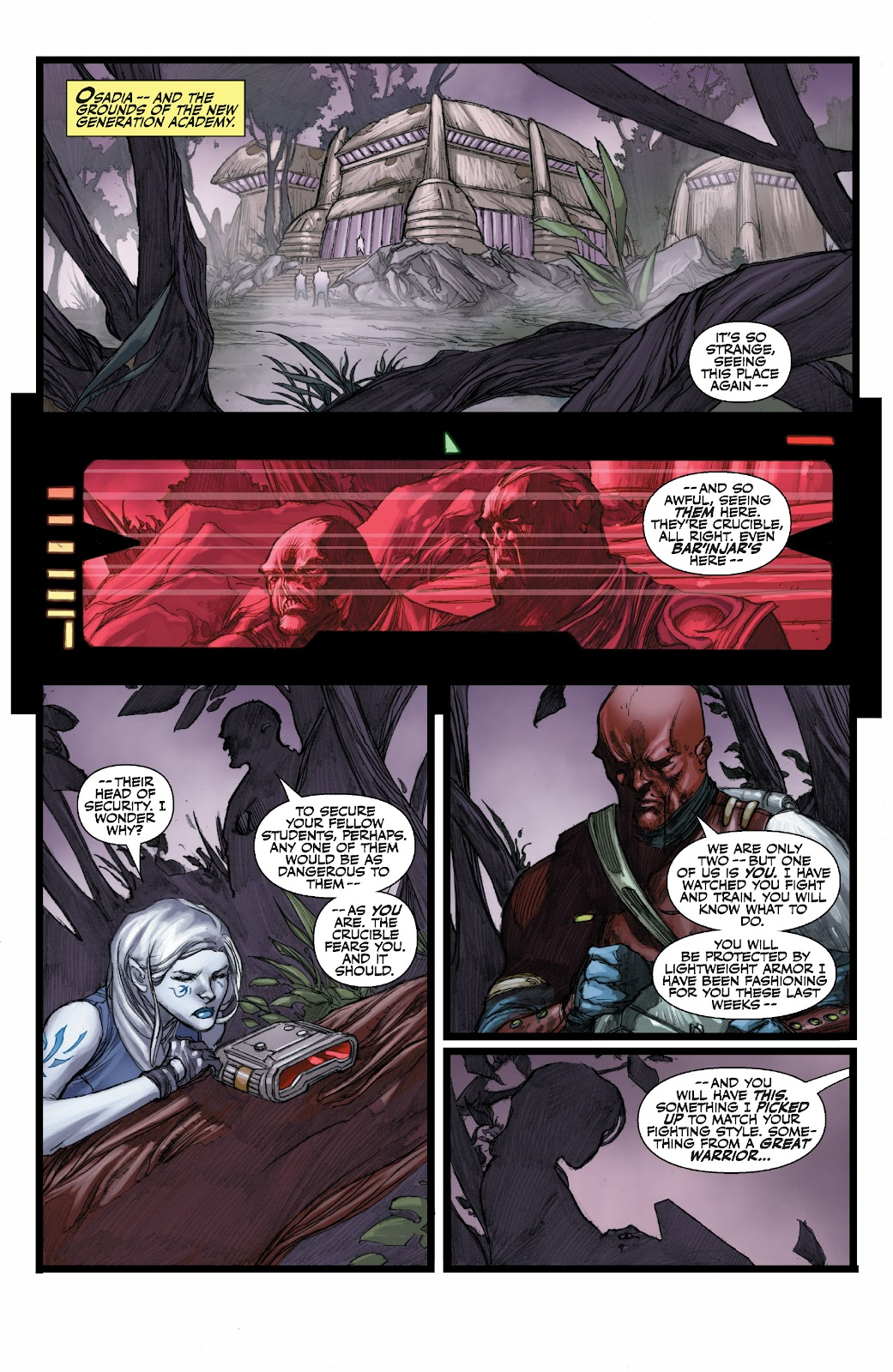 Read online Star Wars Legends: The Old Republic - Epic Collection comic -  Issue # TPB 3 (Part 3) - 49