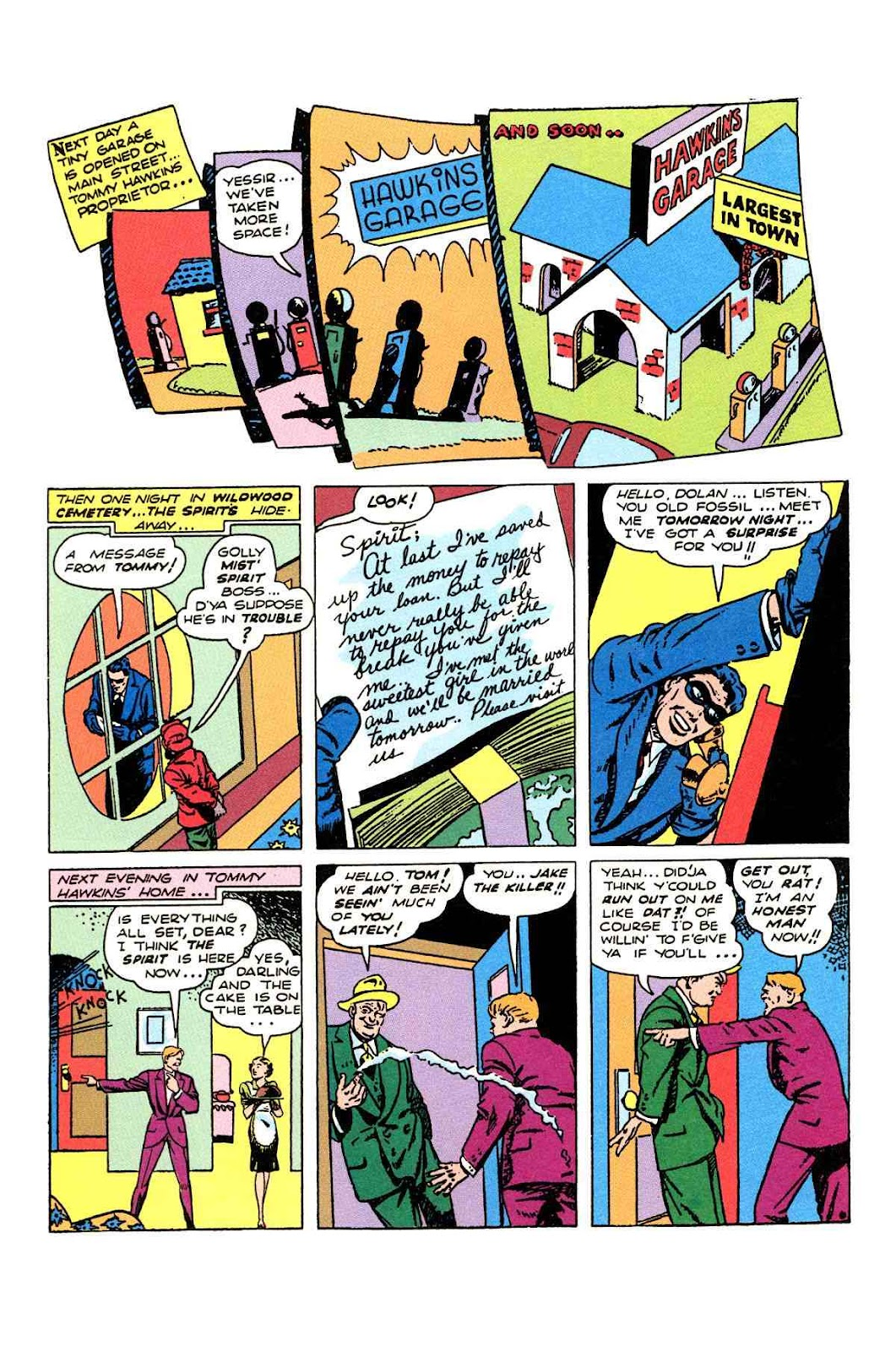 Read online Will Eisner's The Spirit Archives comic -  Issue # TPB 2 (Part 2) - 66