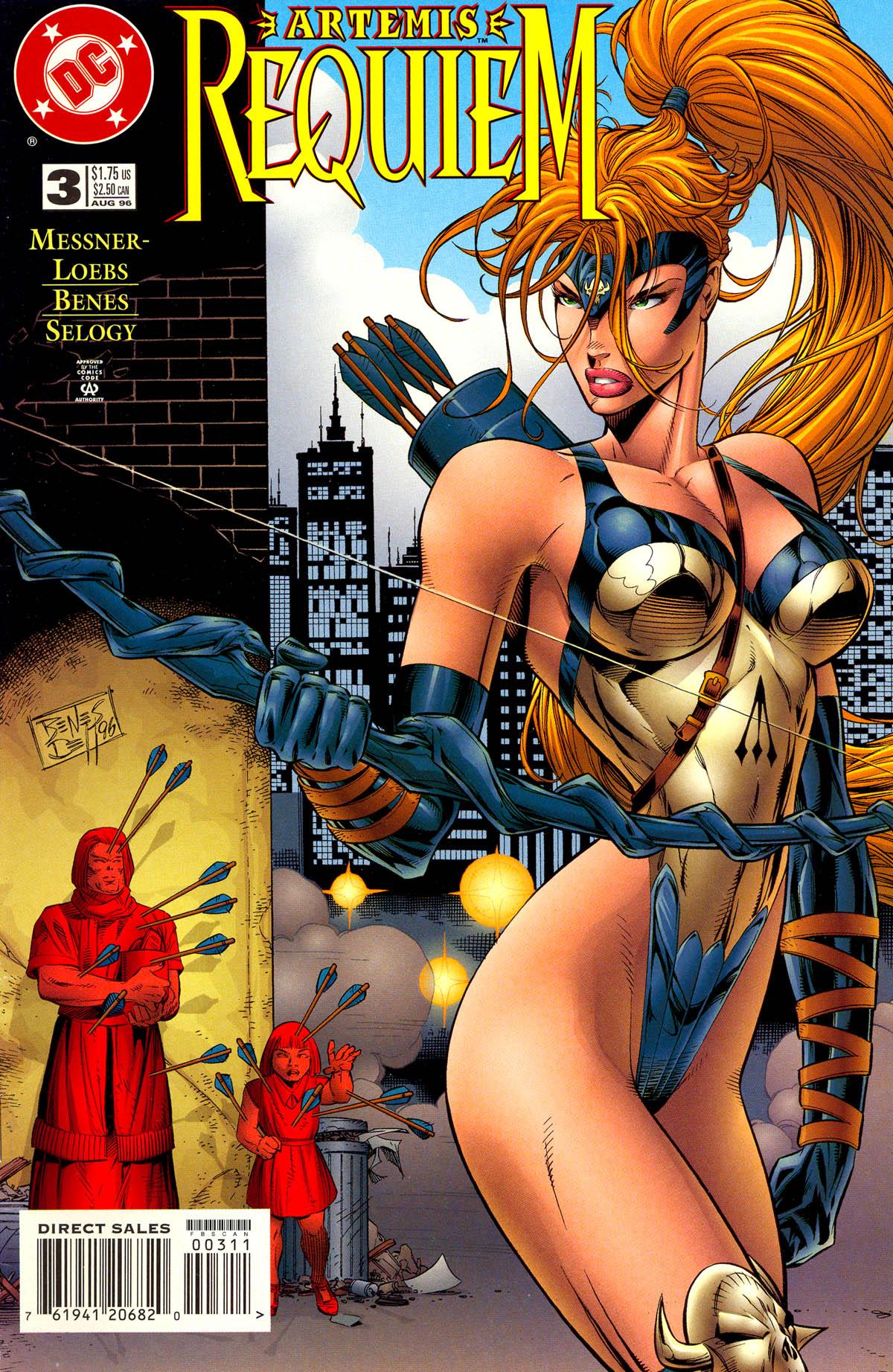 Read online Artemis: Requiem comic -  Issue #3 - 1