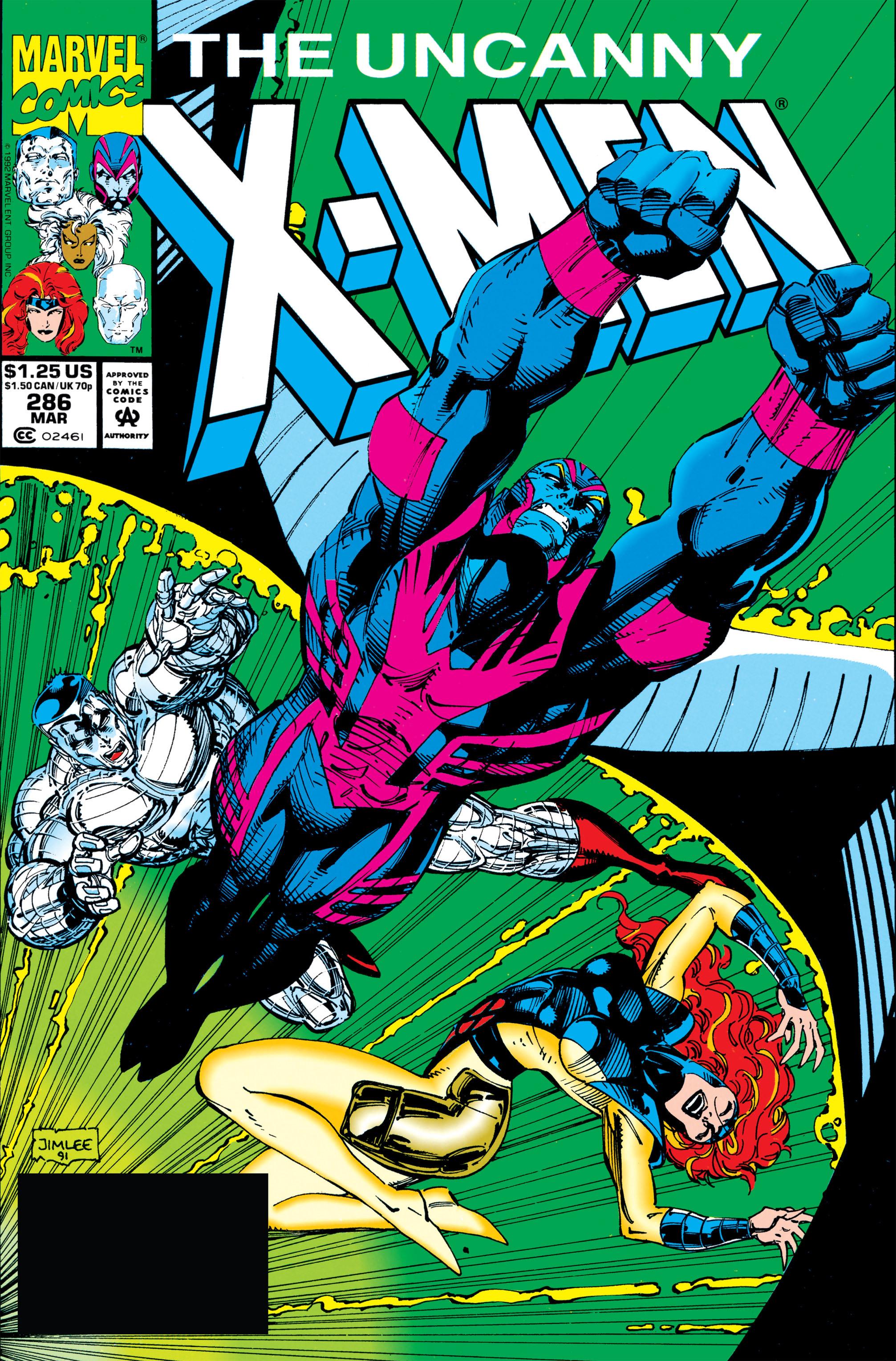 Uncanny X-Men (1963) 286 Page 1