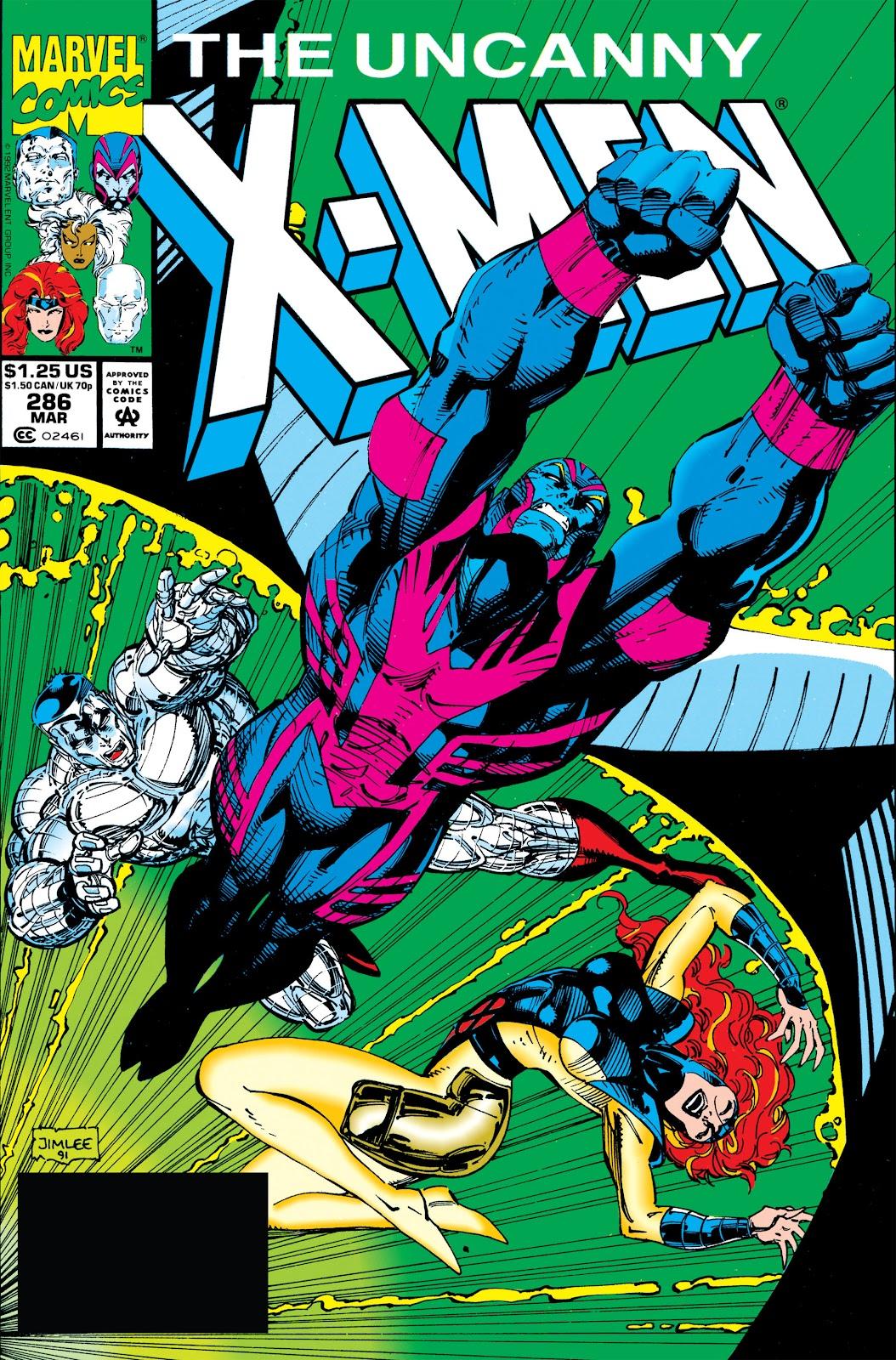 Uncanny X-Men (1963) issue 286 - Page 1