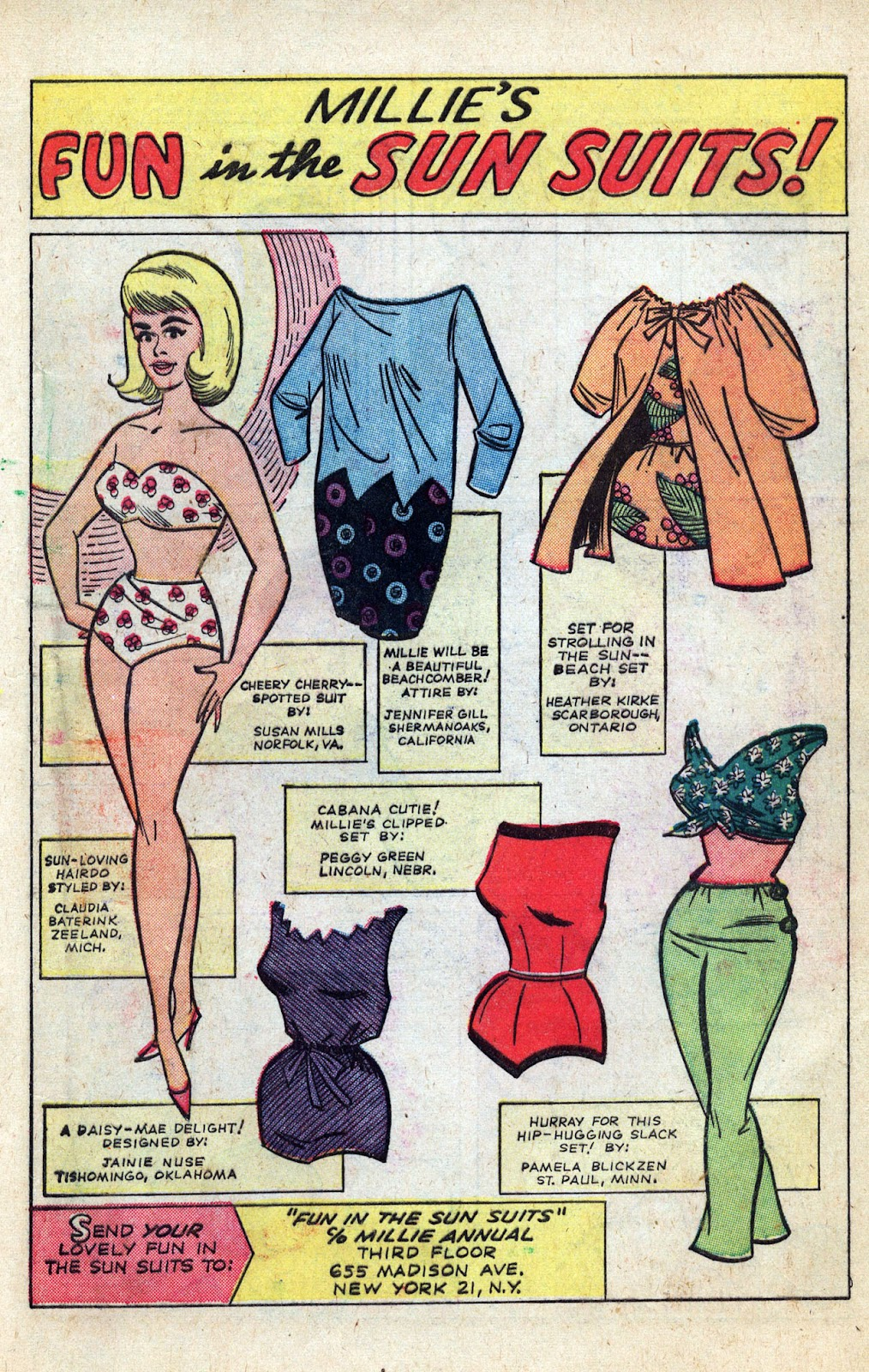 Read online Millie the Model comic -  Issue # Annual 3 - 67
