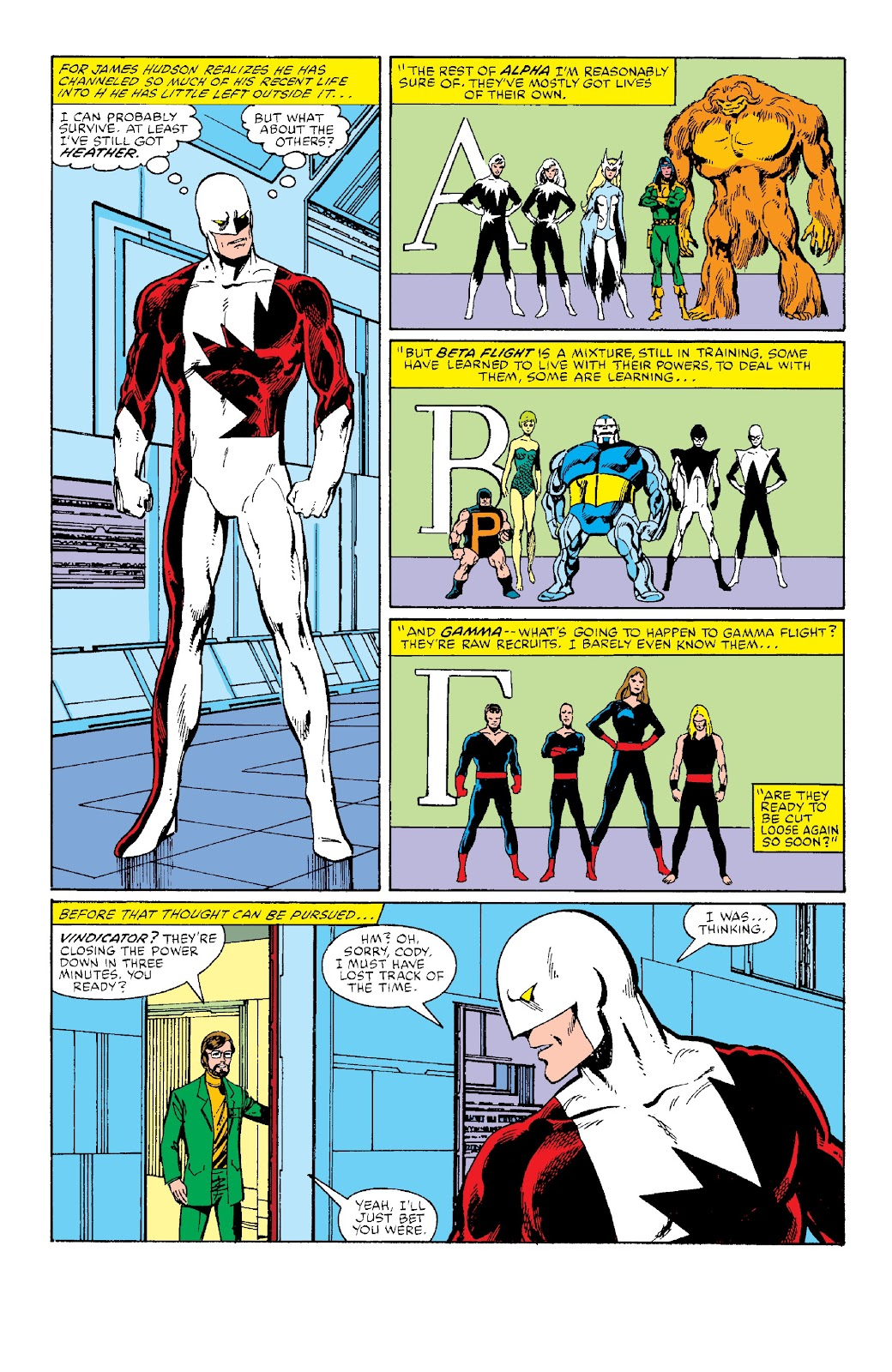 Alpha Flight (1983) issue _Facsimile_Edition_1 - Page 5
