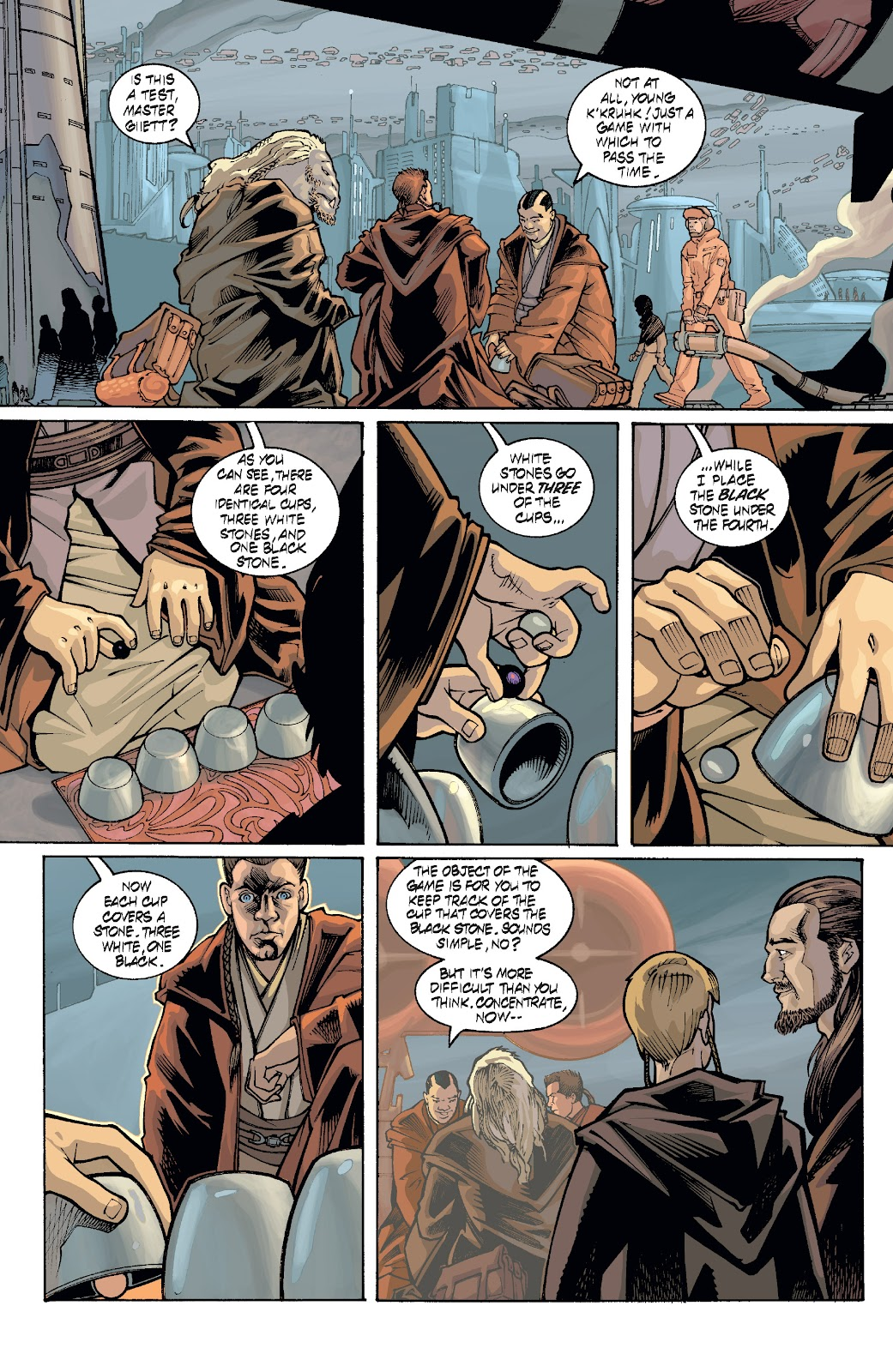 Read online Star Wars Legends: Rise of the Sith - Epic Collection comic -  Issue # TPB 1 (Part 4) - 76