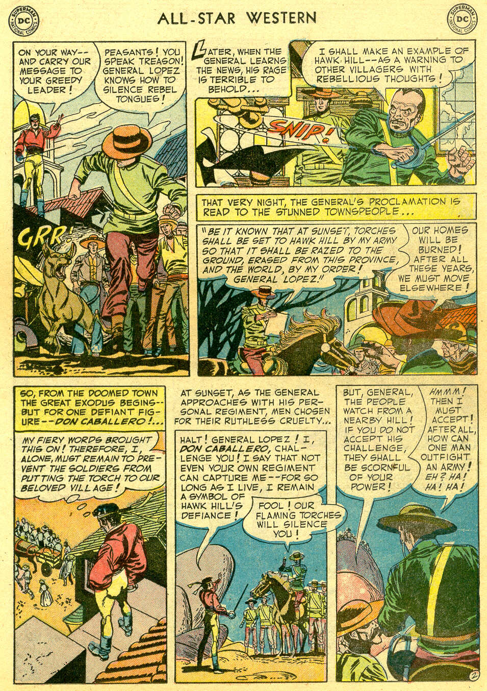 Read online All-Star Western (1951) comic -  Issue #64 - 19