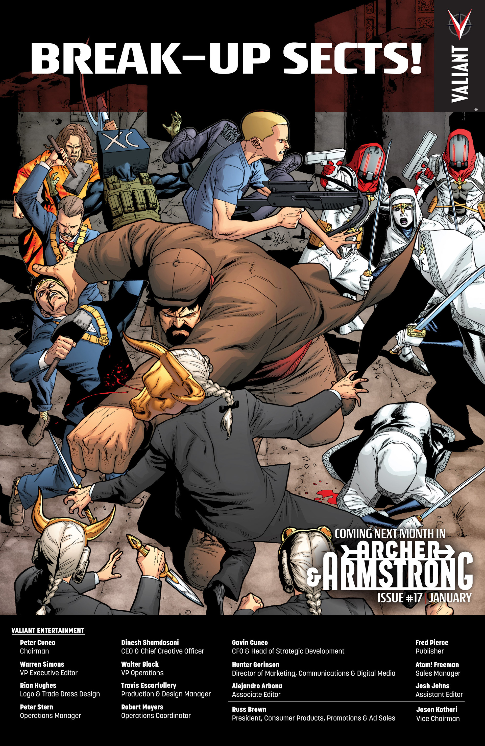 Read online Archer and Armstrong comic -  Issue #16 - 24