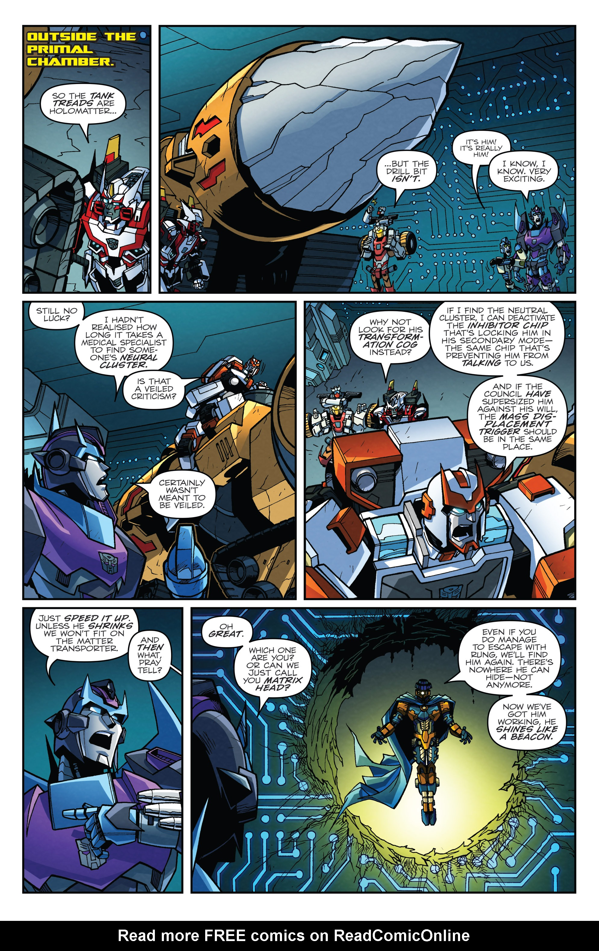 Read online Transformers: Lost Light comic -  Issue #4 - 19