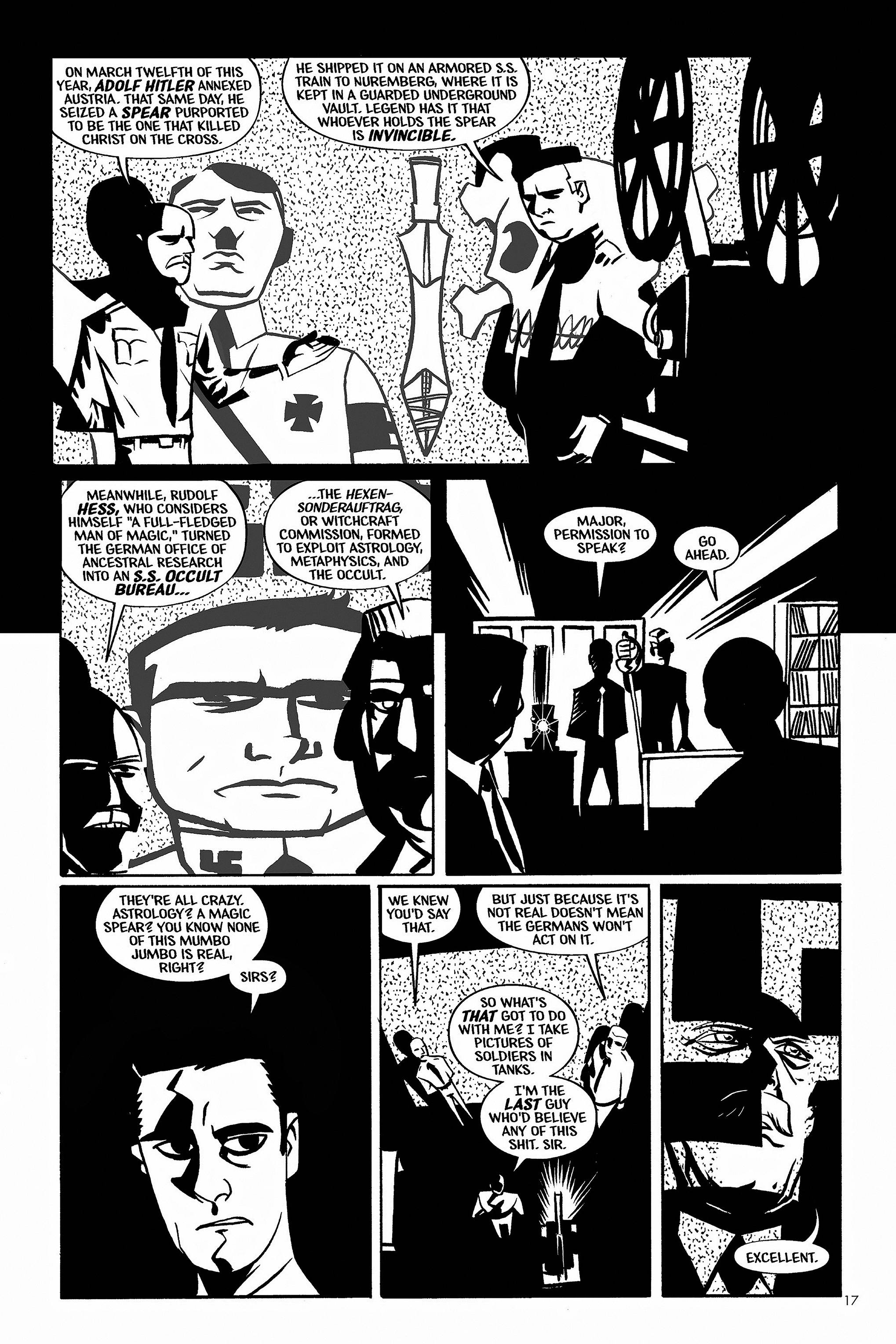 Read online Aleister & Adolf comic -  Issue # TPB - 17