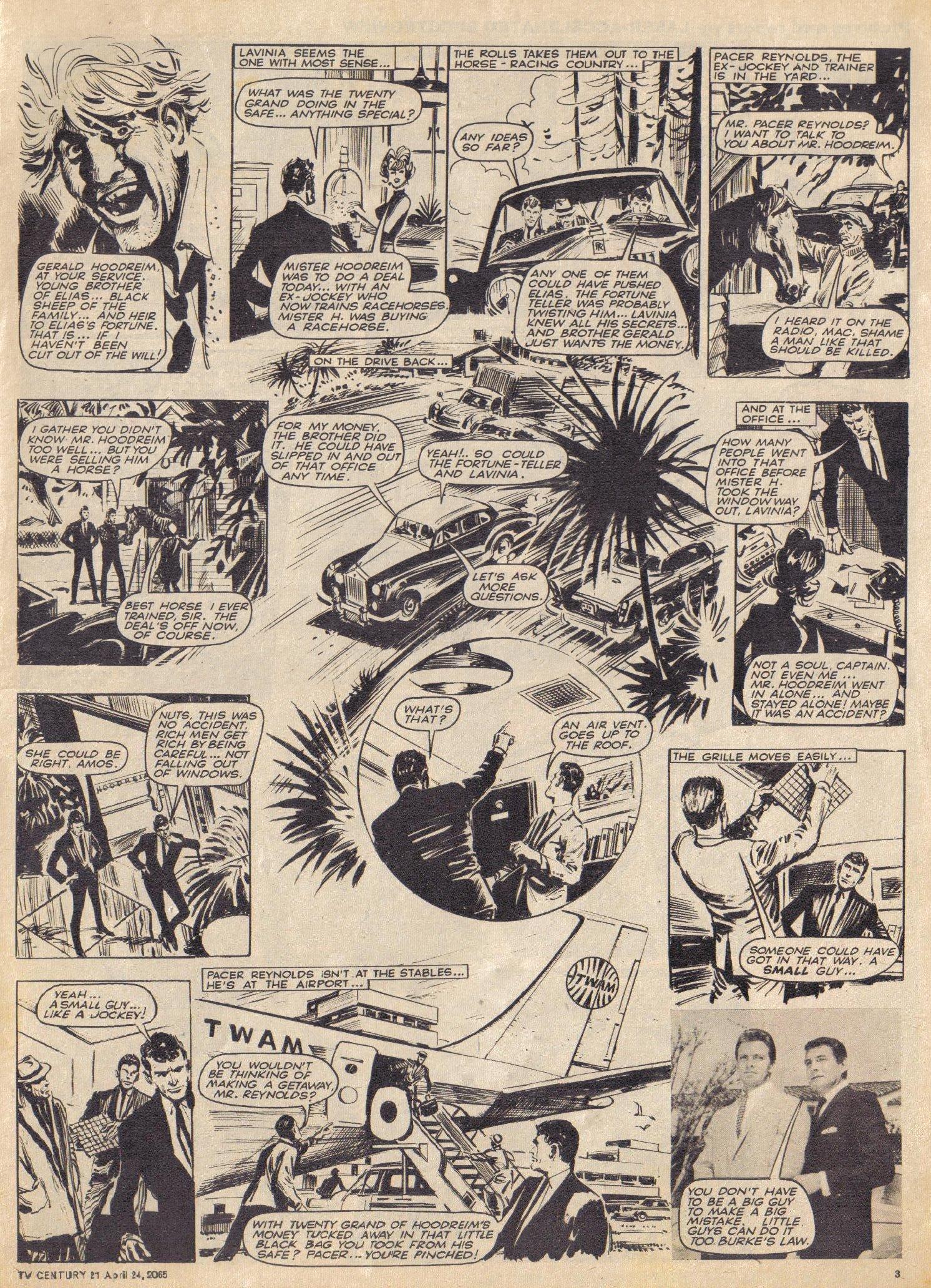 Read online TV Century 21 (TV 21) comic -  Issue #14 - 3