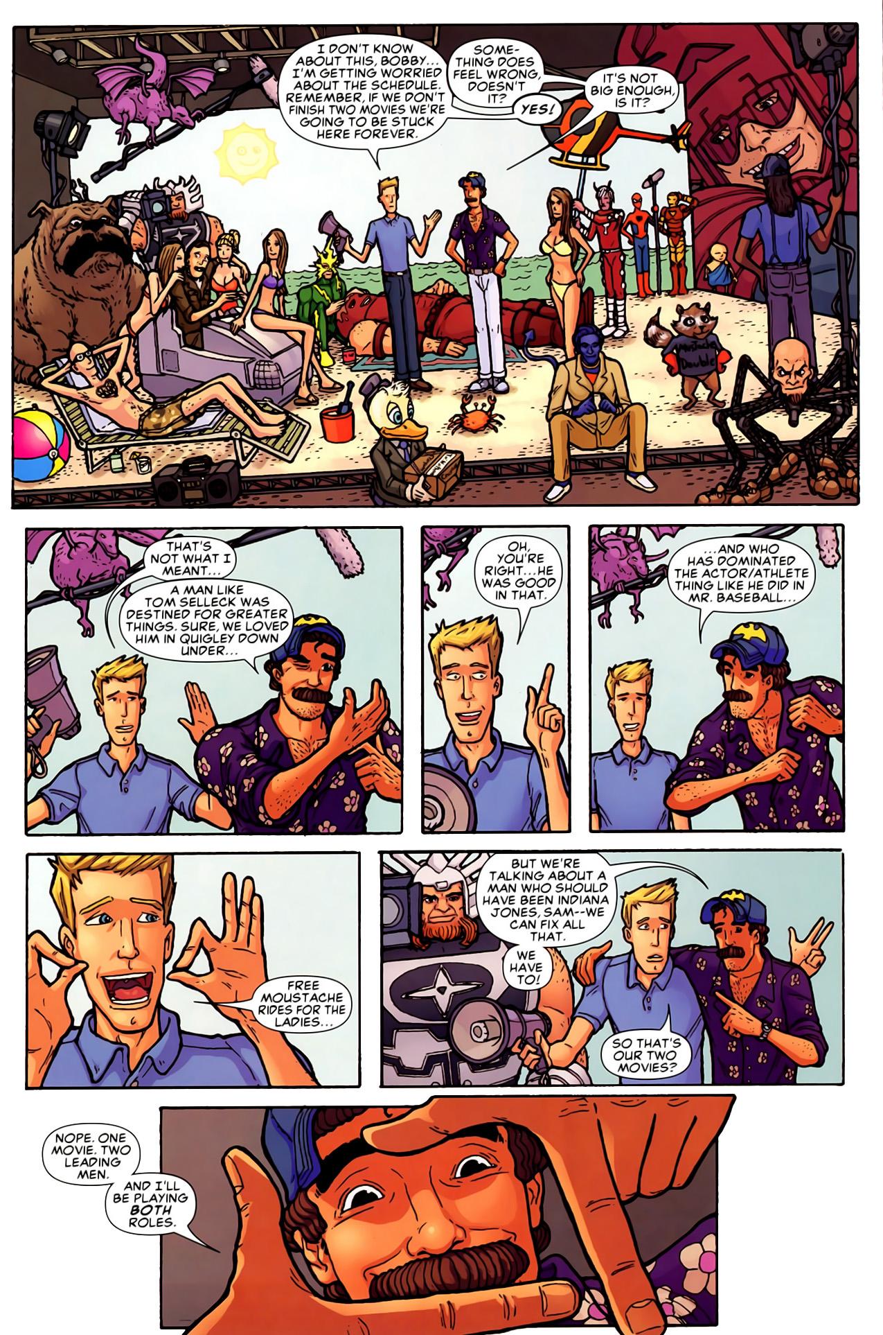 Read online Astonishing Tales (2009) comic -  Issue #6 - 29
