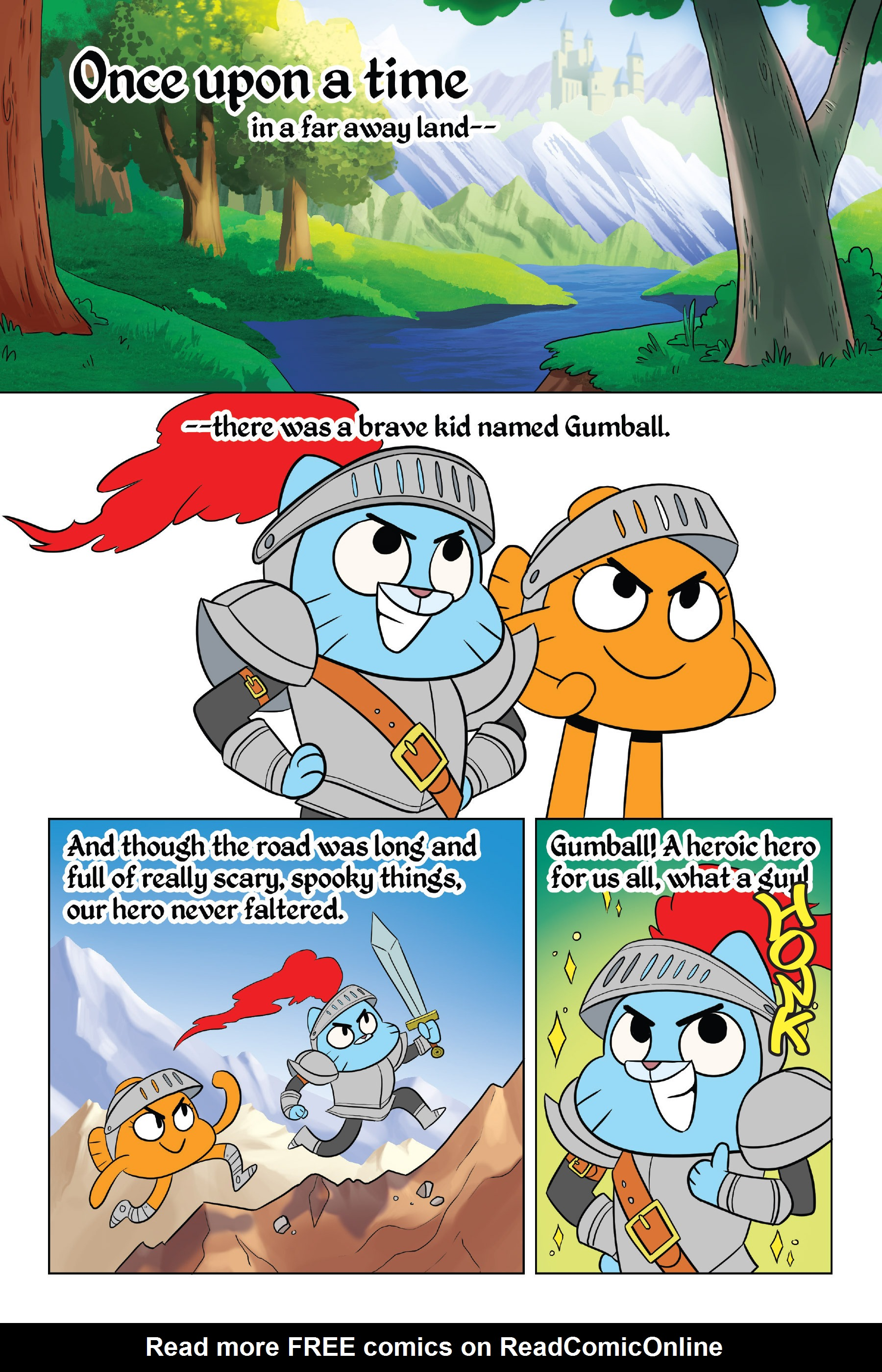 Read online The Amazing World of Gumball: Fairy Tale Trouble comic -  Issue # Full - 6