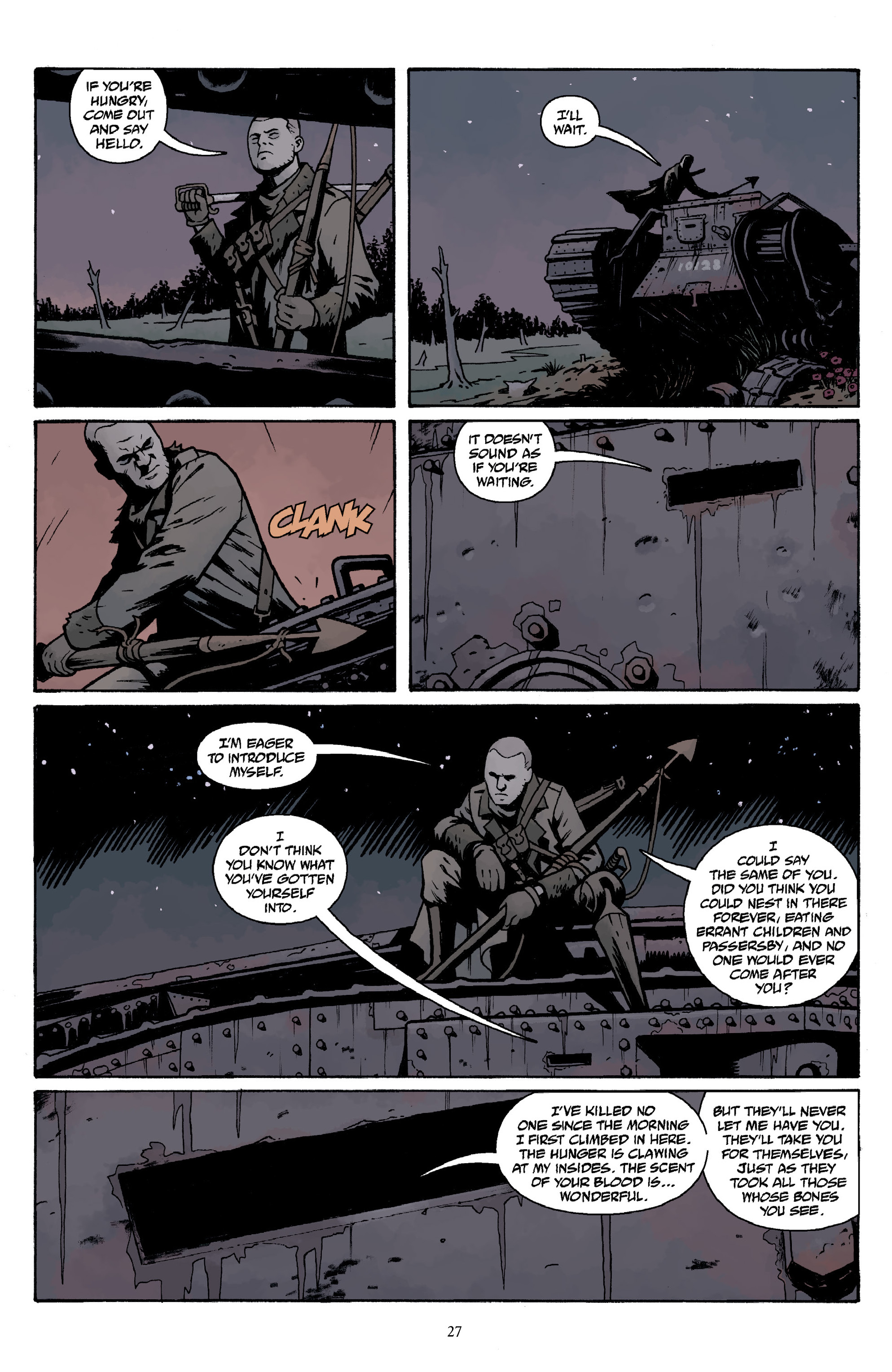 Read online Baltimore Volume 3: A Passing Stranger and Other Stories comic -  Issue # Full - 29
