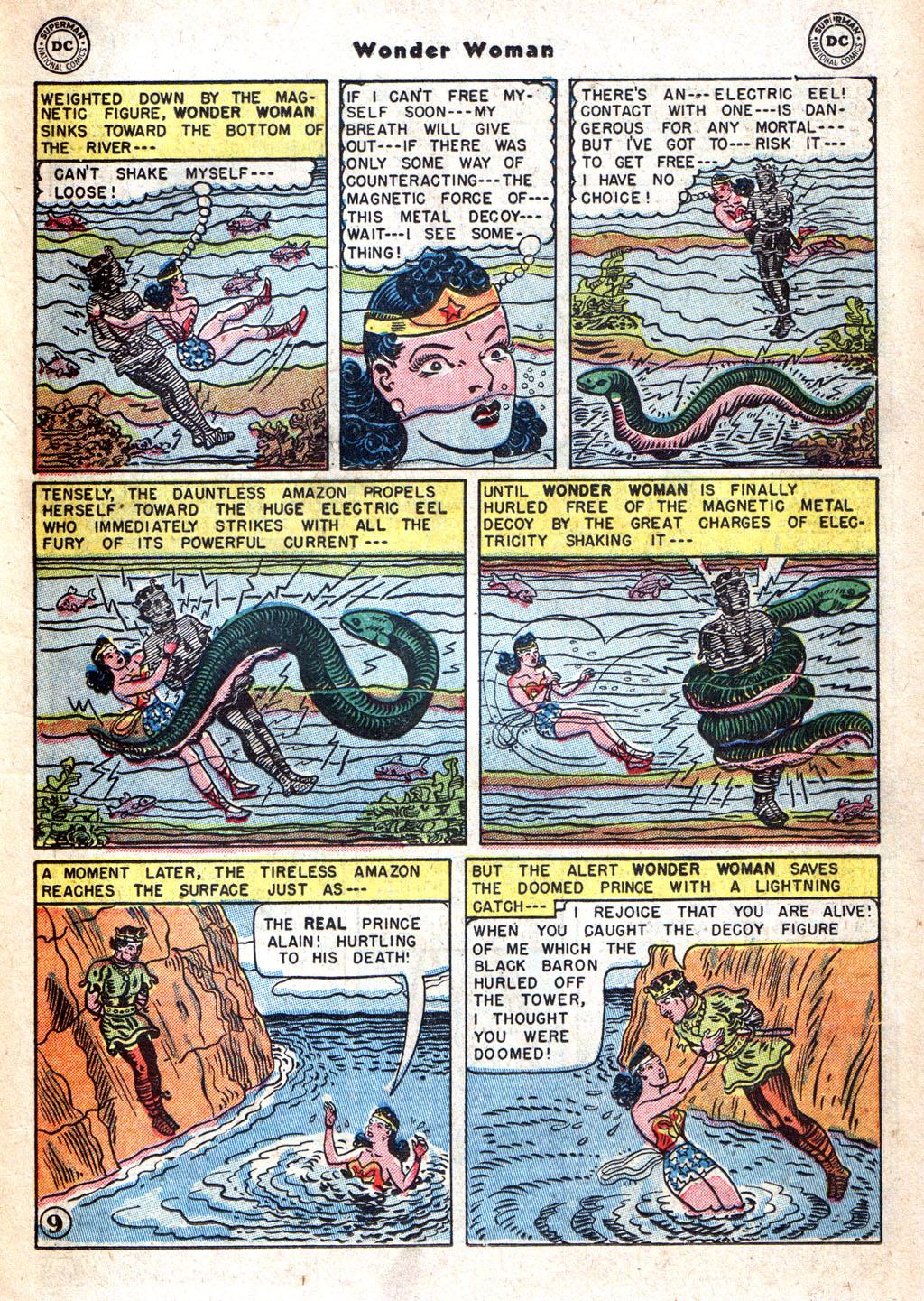 Read online Wonder Woman (1942) comic -  Issue #72 - 11