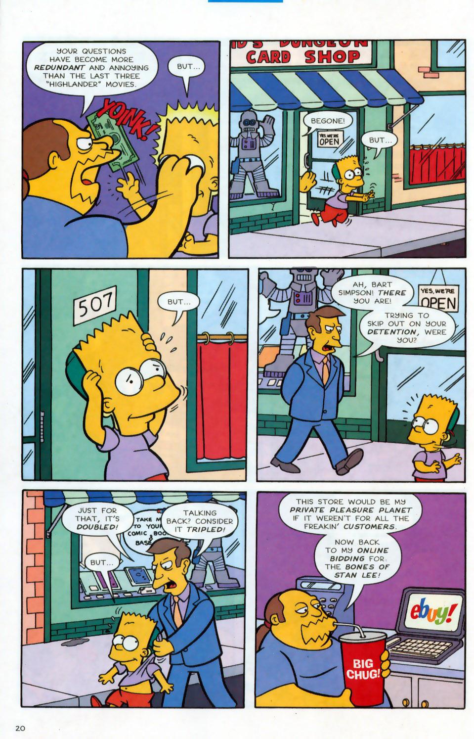 Read online Simpsons Comics comic -  Issue #78 - 21