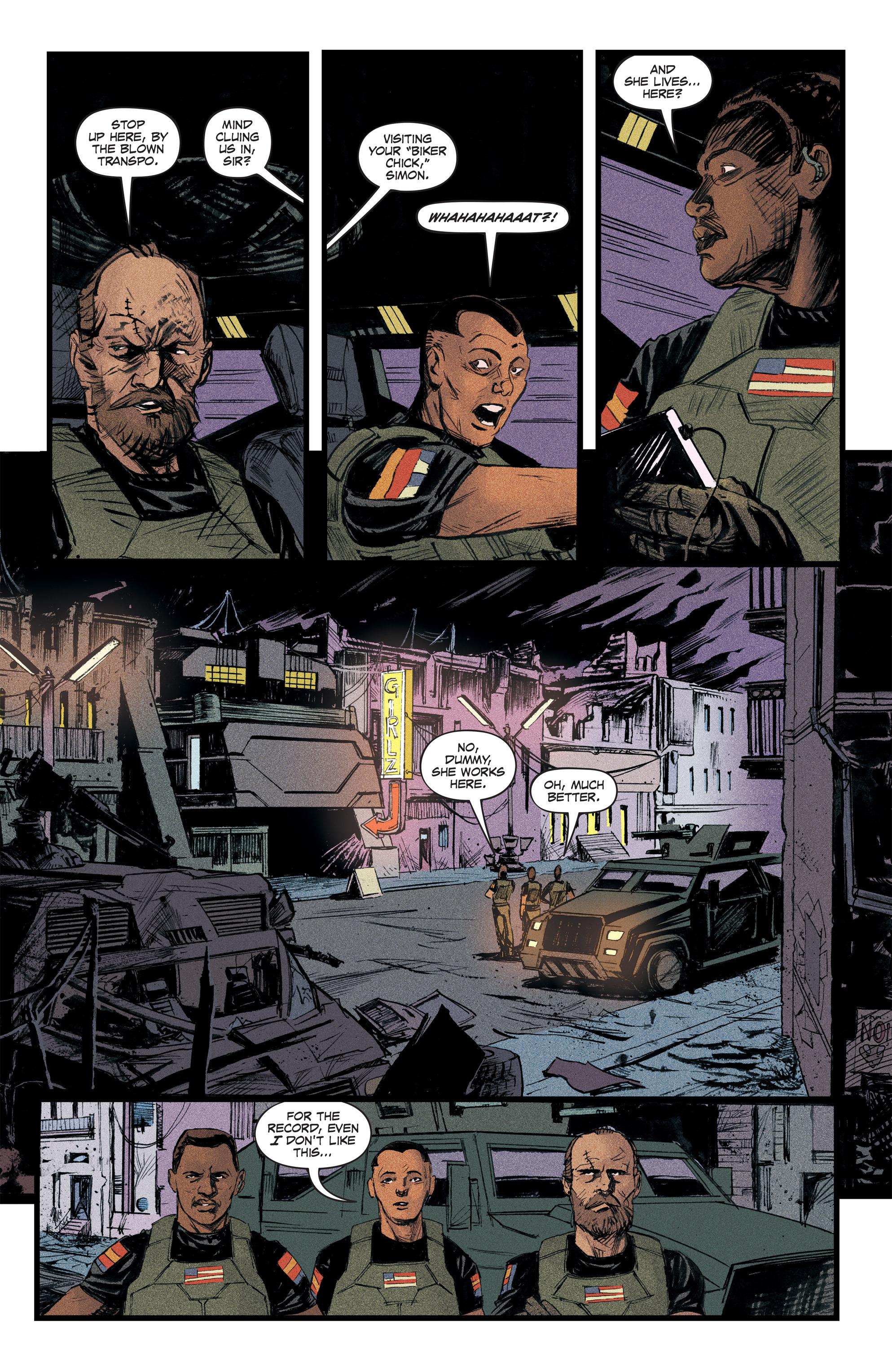 Read online Redline comic -  Issue #2 - 17
