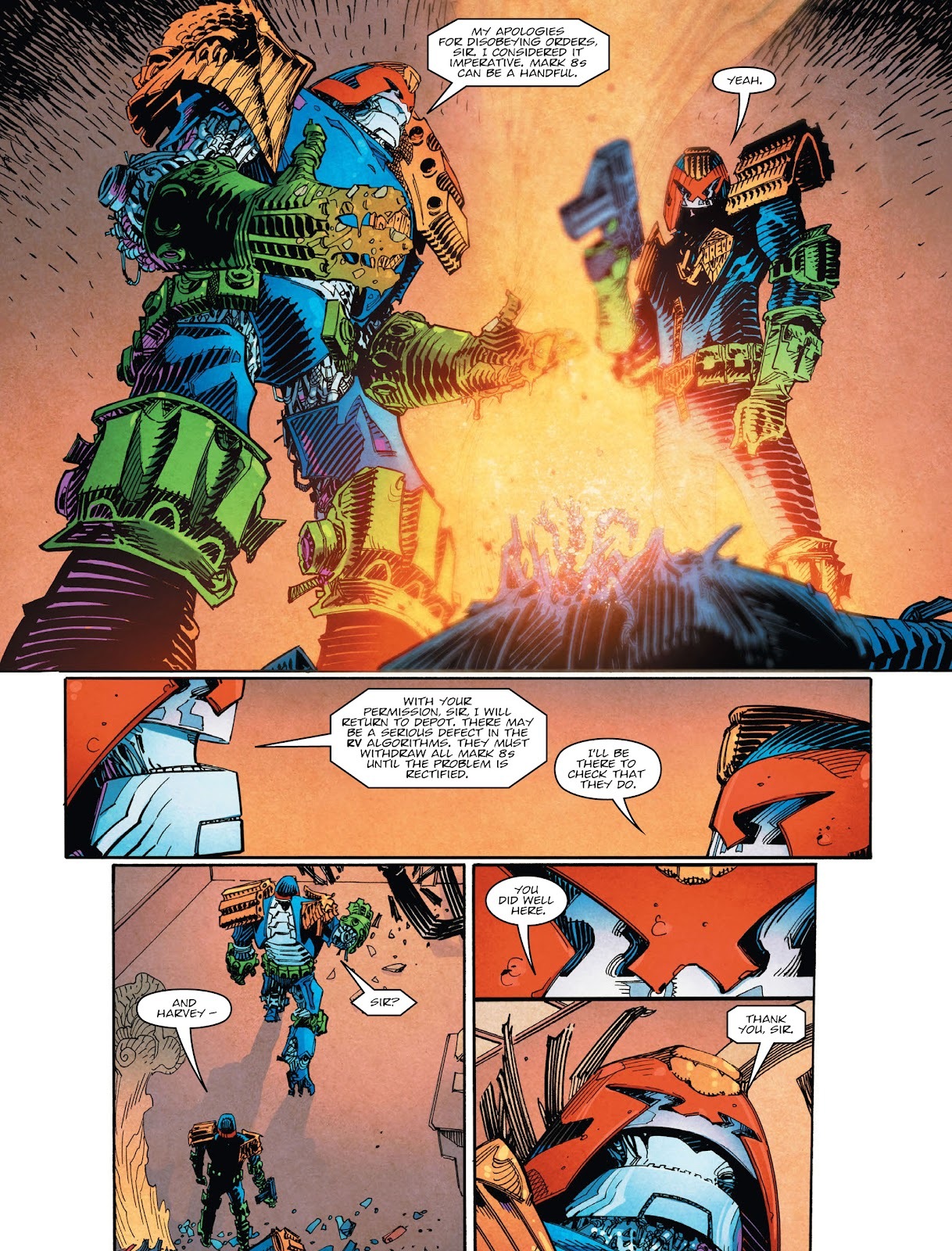 Read online 2000 AD comic -  Issue #2029 - 7
