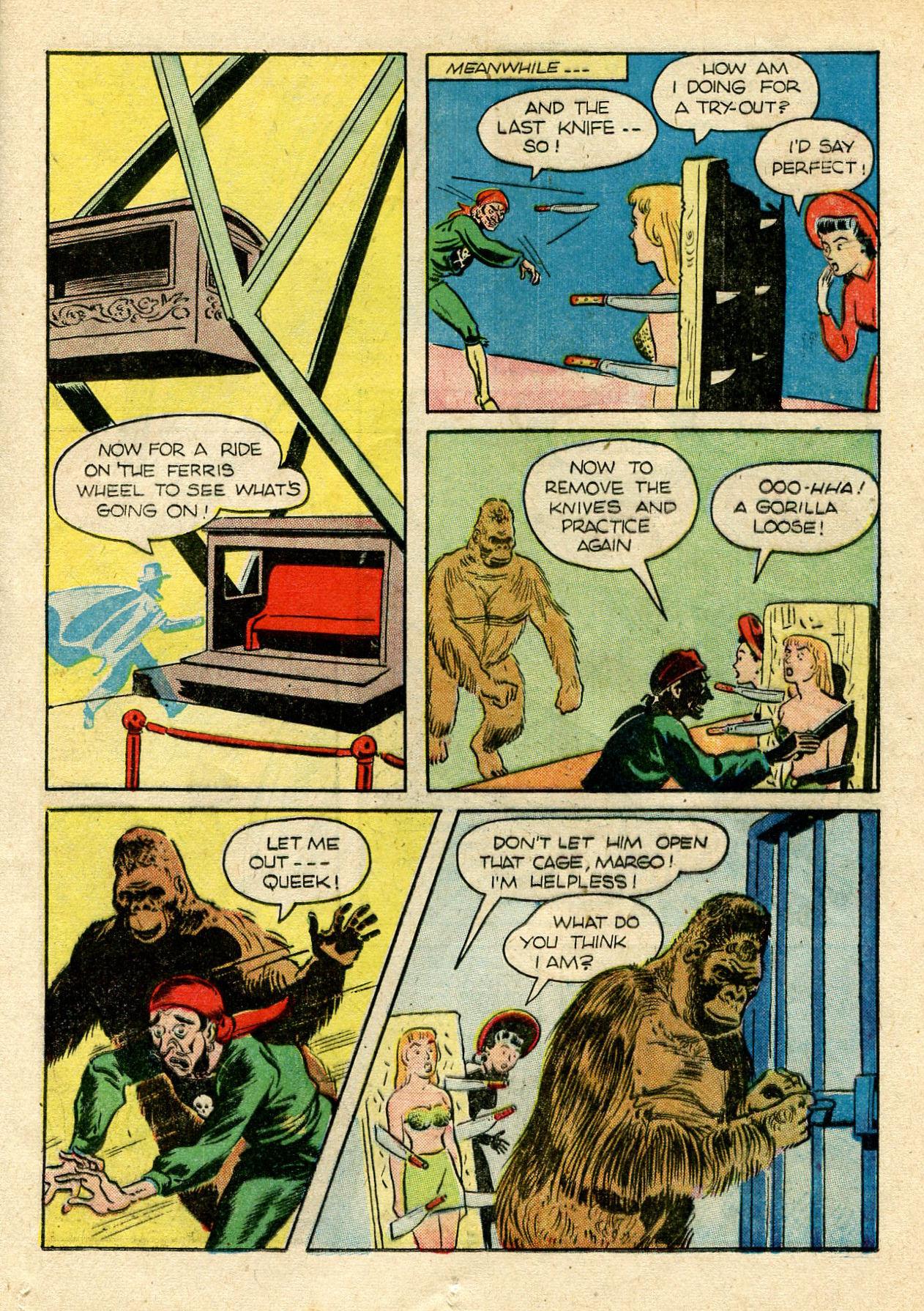 Read online Shadow Comics comic -  Issue #33 - 25