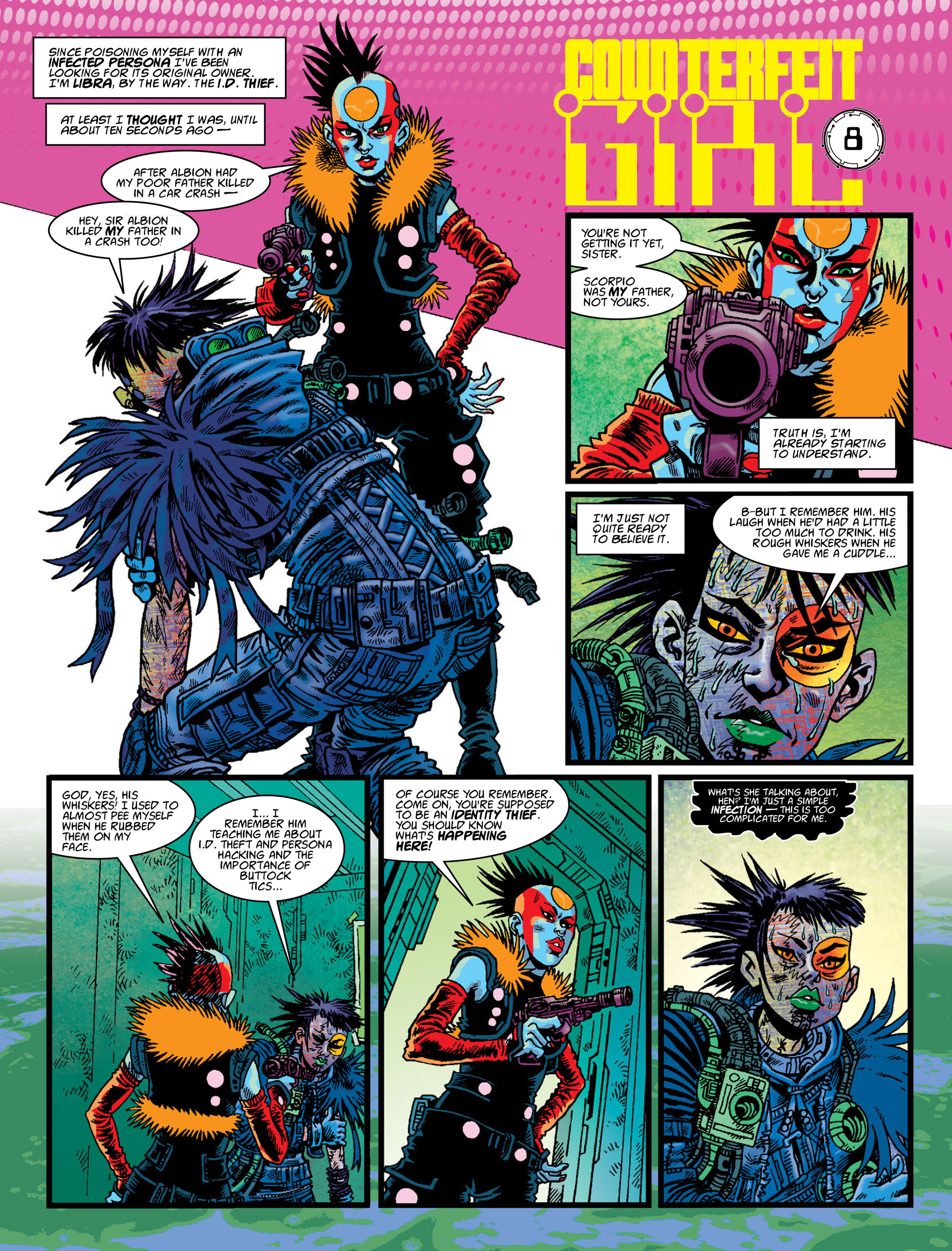 Read online 2000 AD comic -  Issue #2007 - 26
