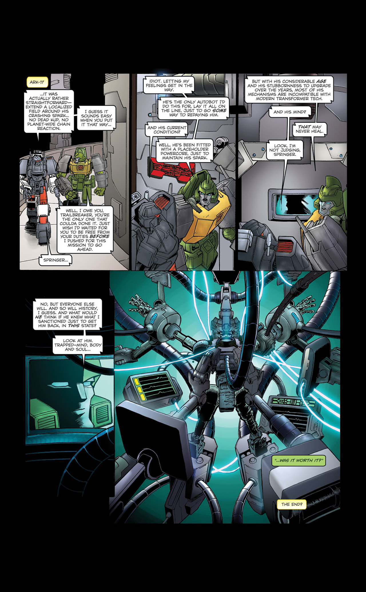 Read online Transformers Spotlight: Kup comic -  Issue # Full - 27