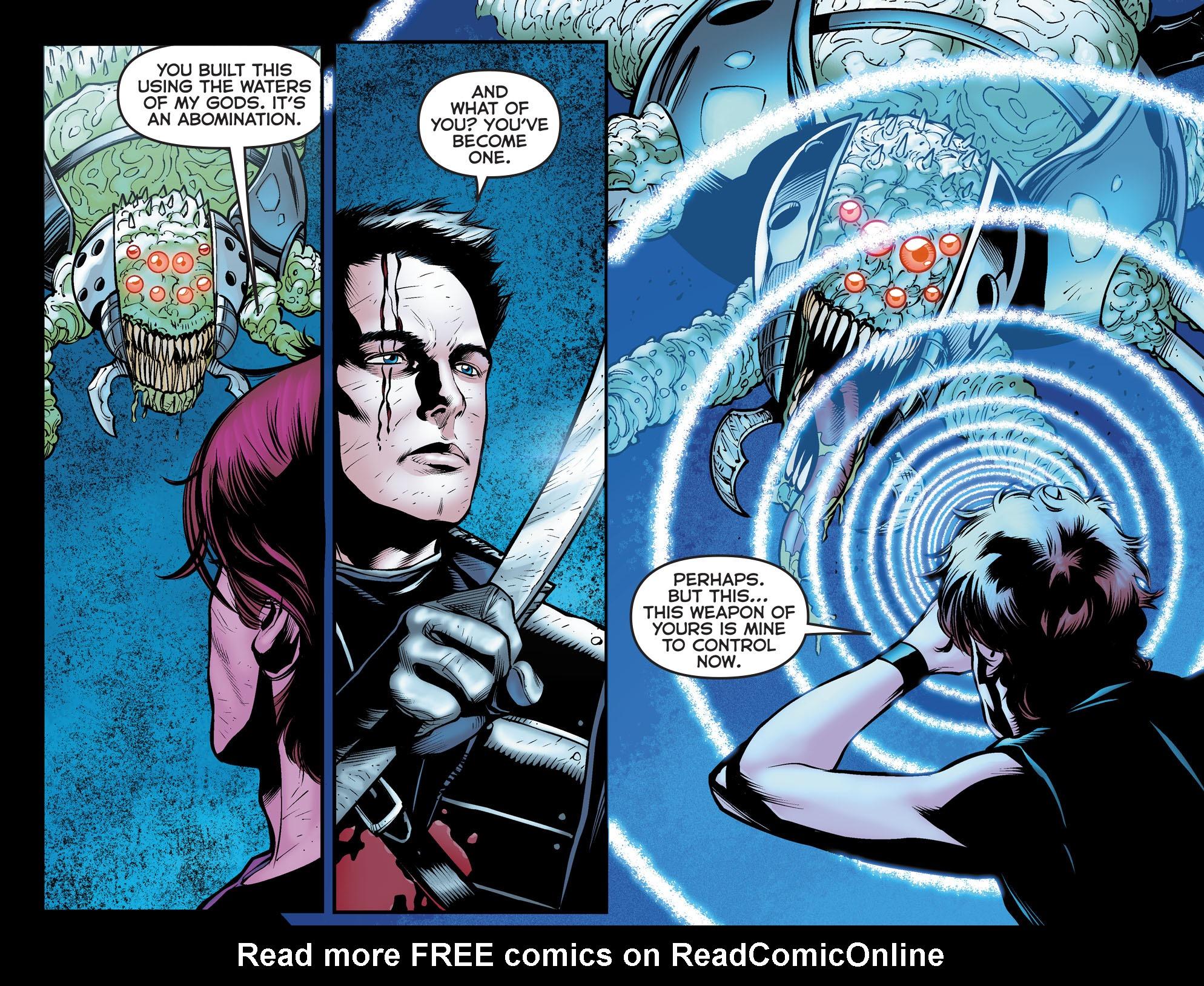 Read online Arrow: The Dark Archer comic -  Issue #12 - 13