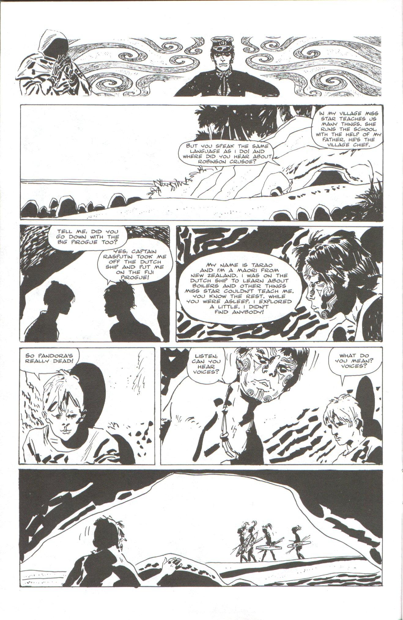 Read online Corto Maltese: Ballad of the Salt Sea comic -  Issue #2 - 6