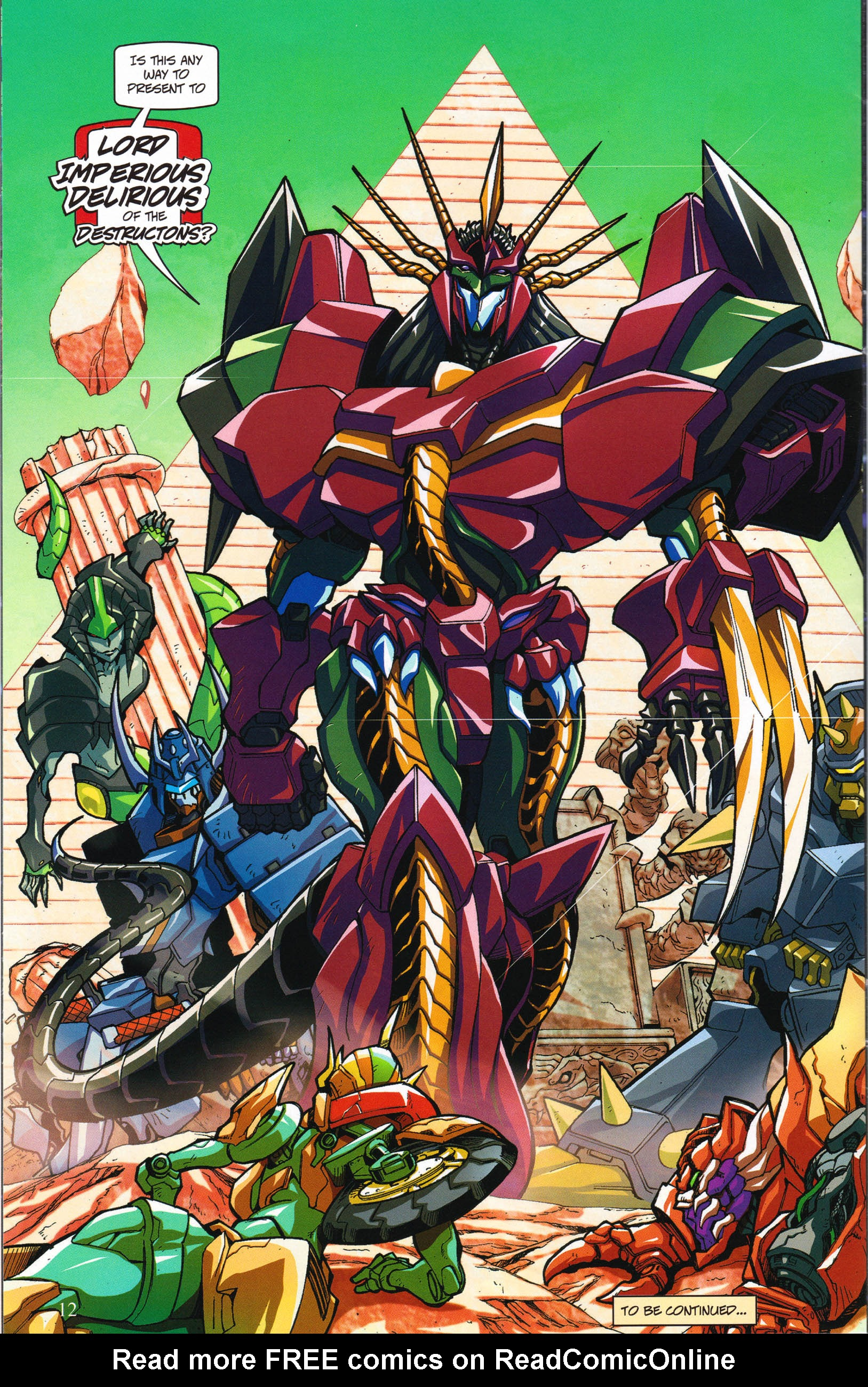 Read online Transformers: Collectors' Club comic -  Issue #58 - 12