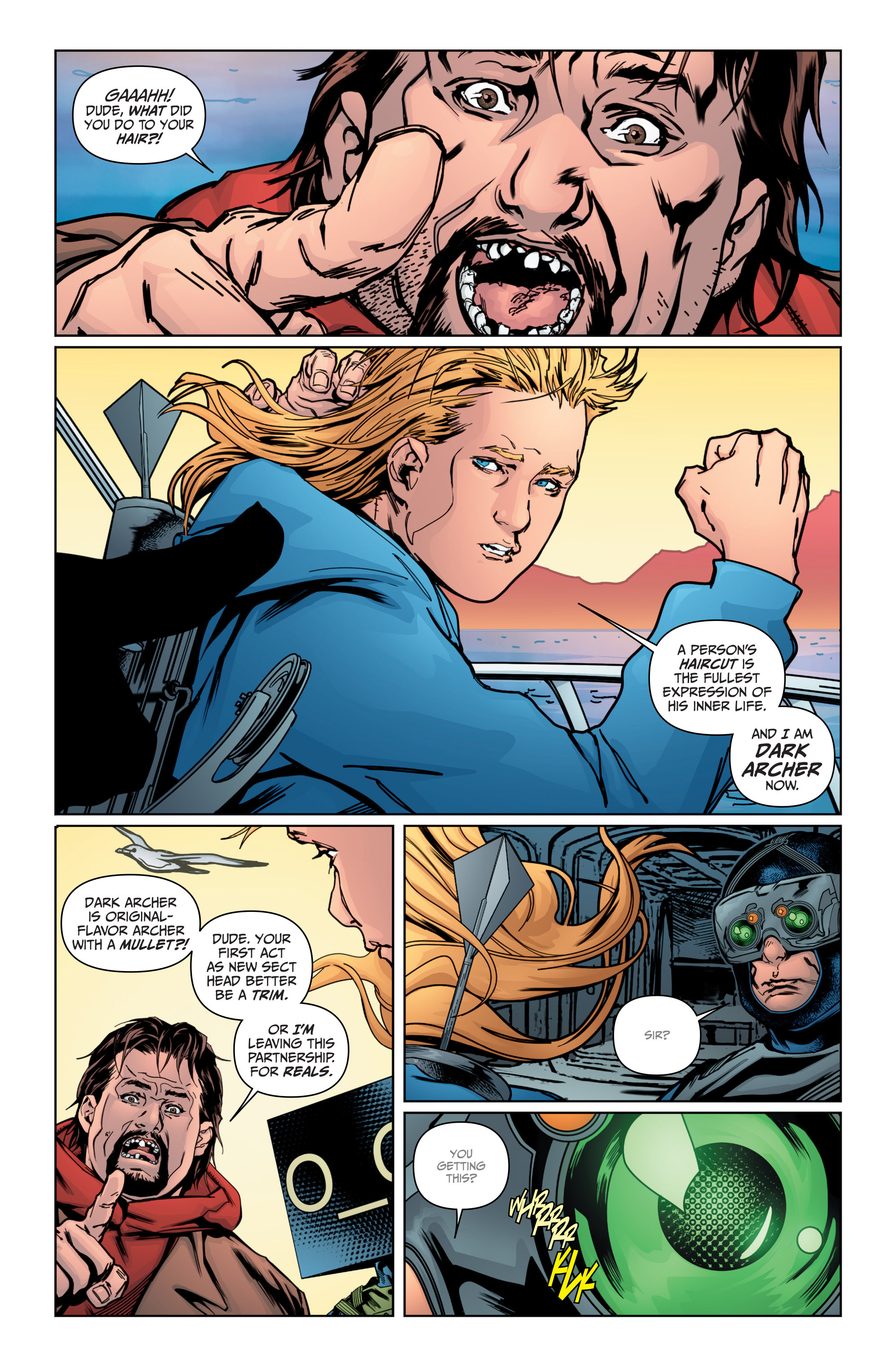 Read online Archer and Armstrong comic -  Issue #Archer and Armstrong _TPB 4 - 96
