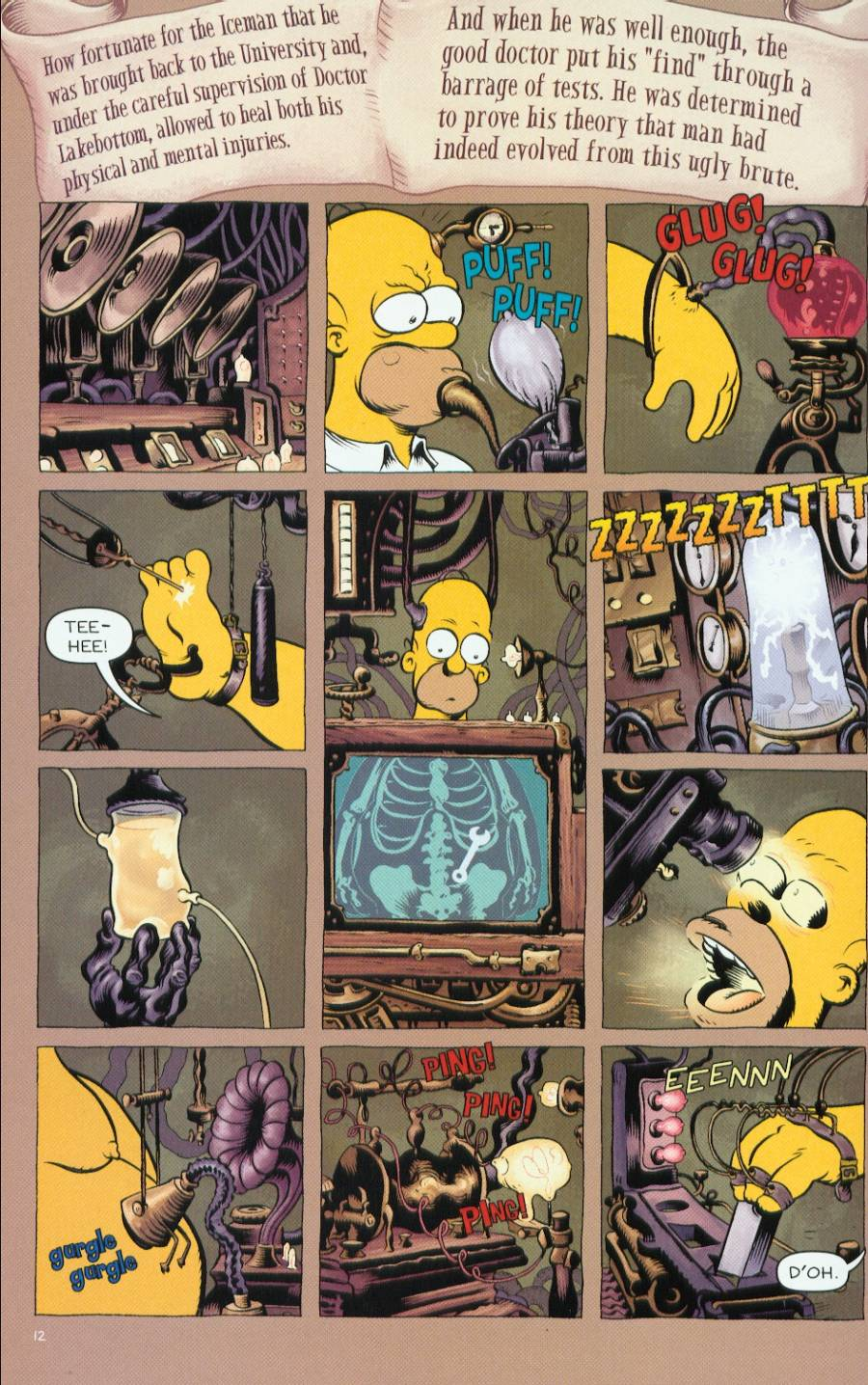 Read online Treehouse of Horror comic -  Issue #7 - 40