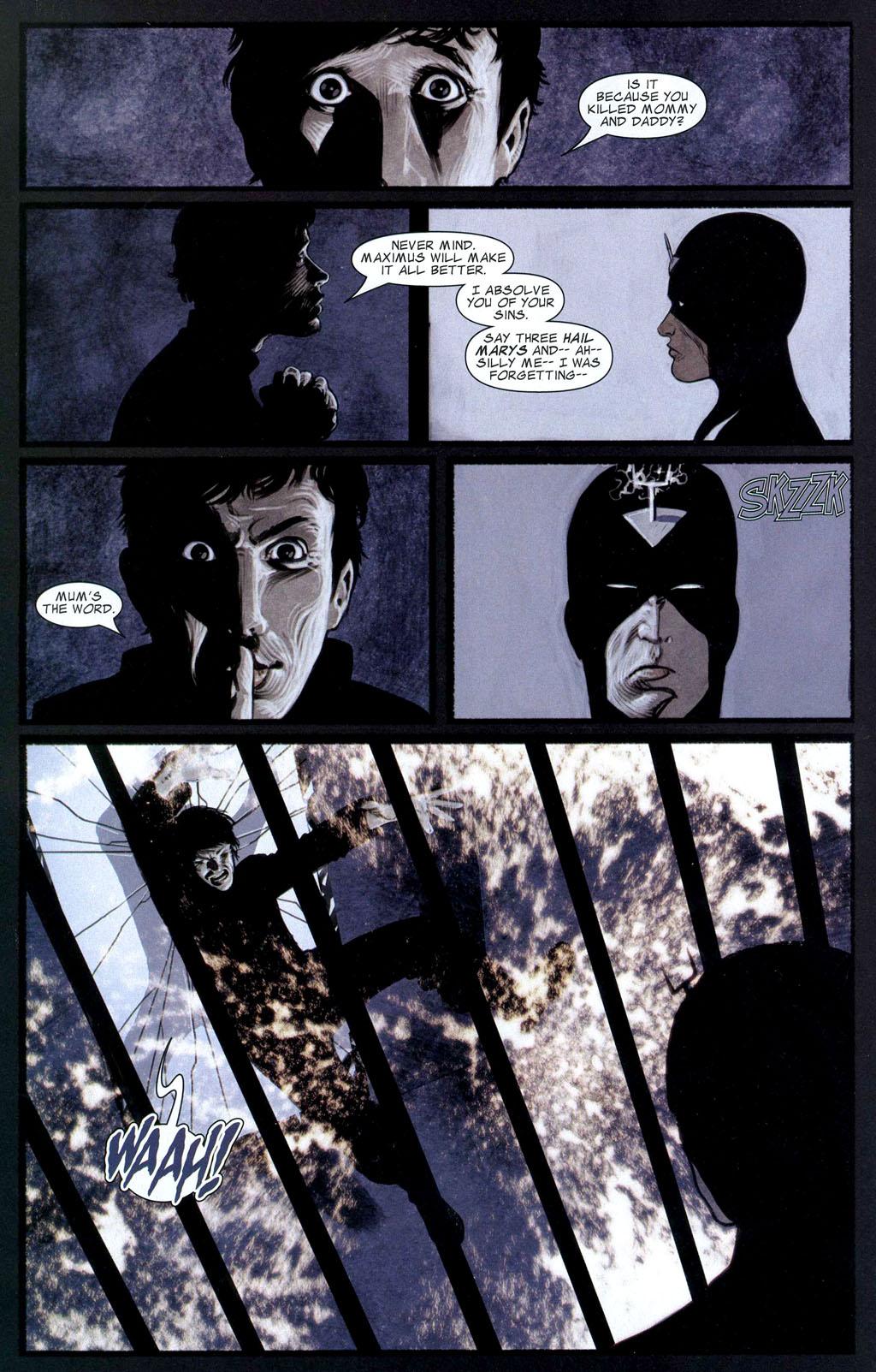 Read online Silent War comic -  Issue #2 - 12