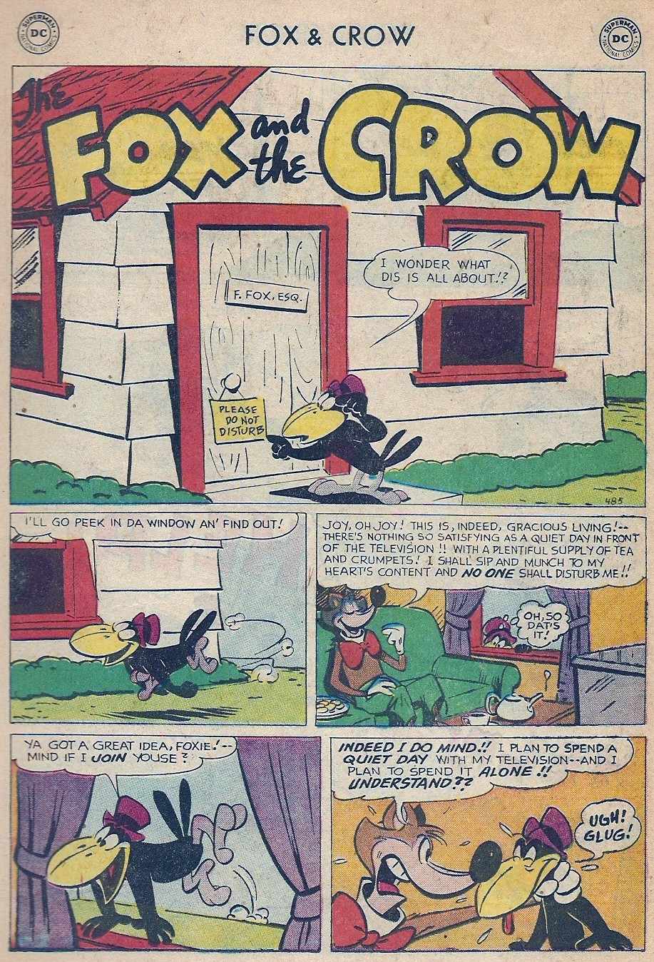 The Fox and the Crow issue 45 - Page 11