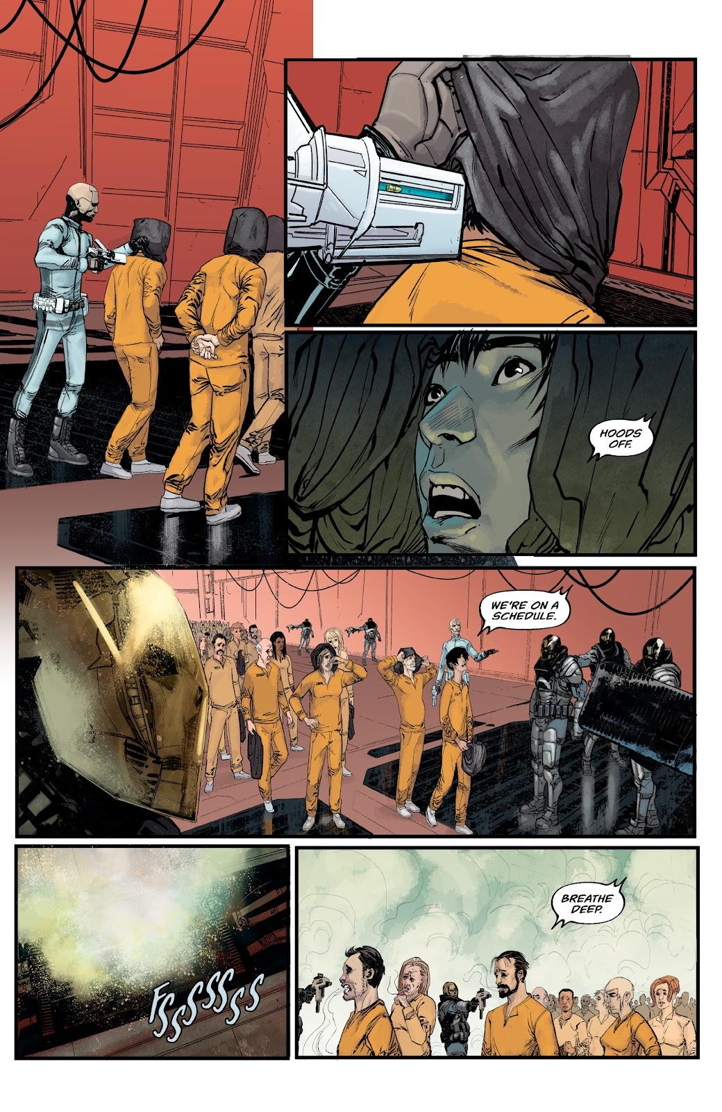 Read online Aliens: Resistance comic -  Issue #2 - 4