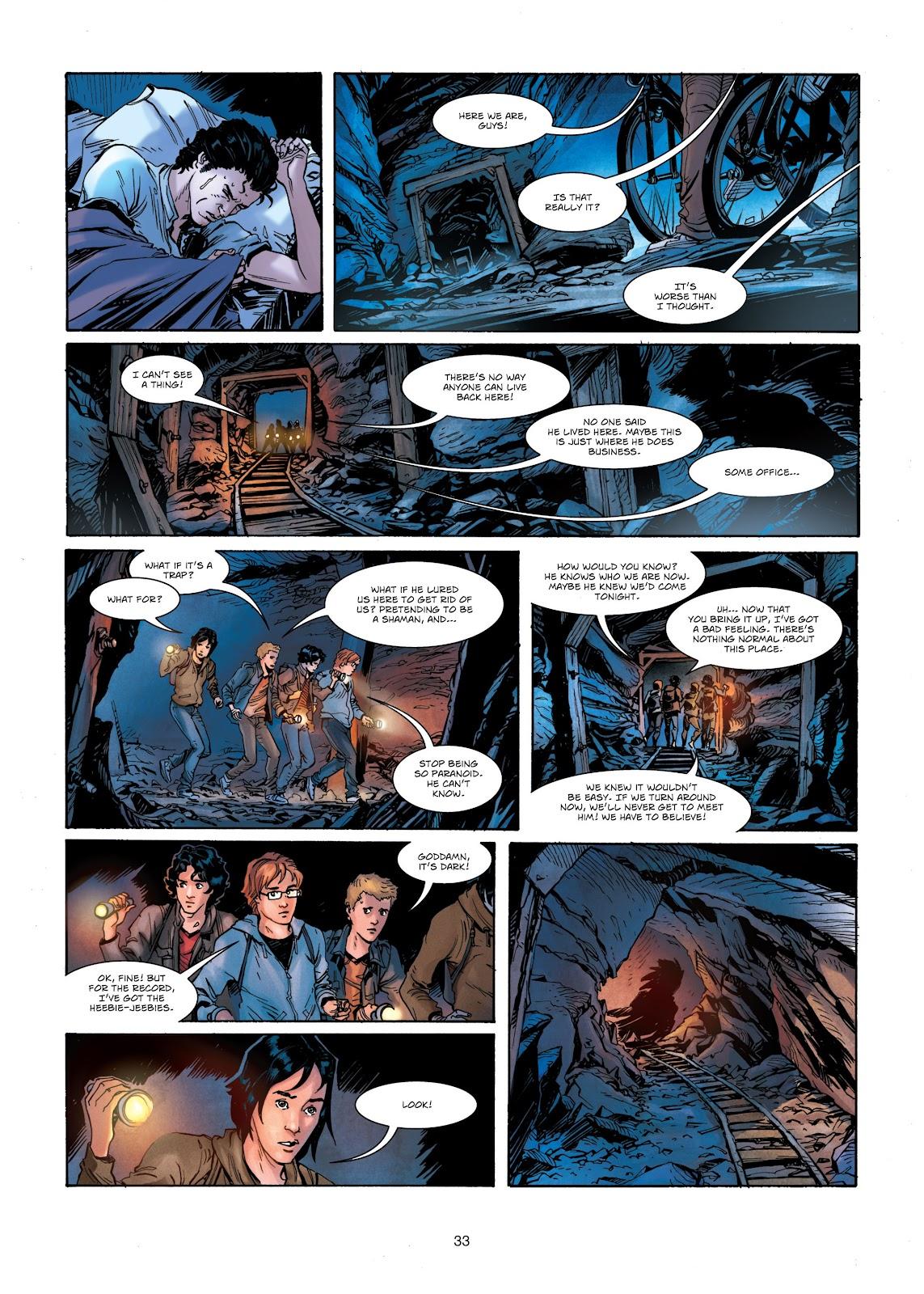 Read online Vigilantes comic -  Issue #1 - 33