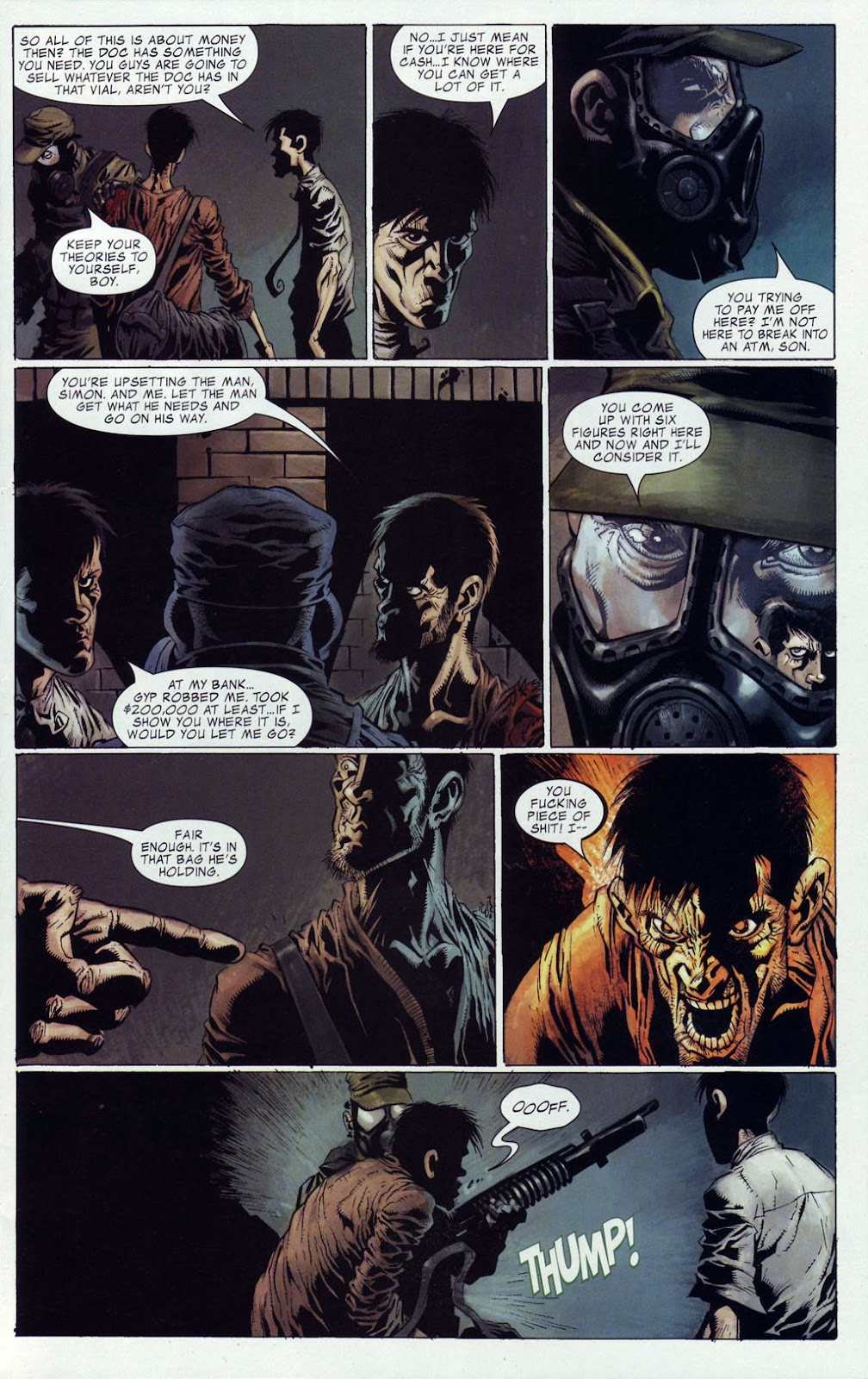 Read online Zombie (2006) comic -  Issue #4 - 7