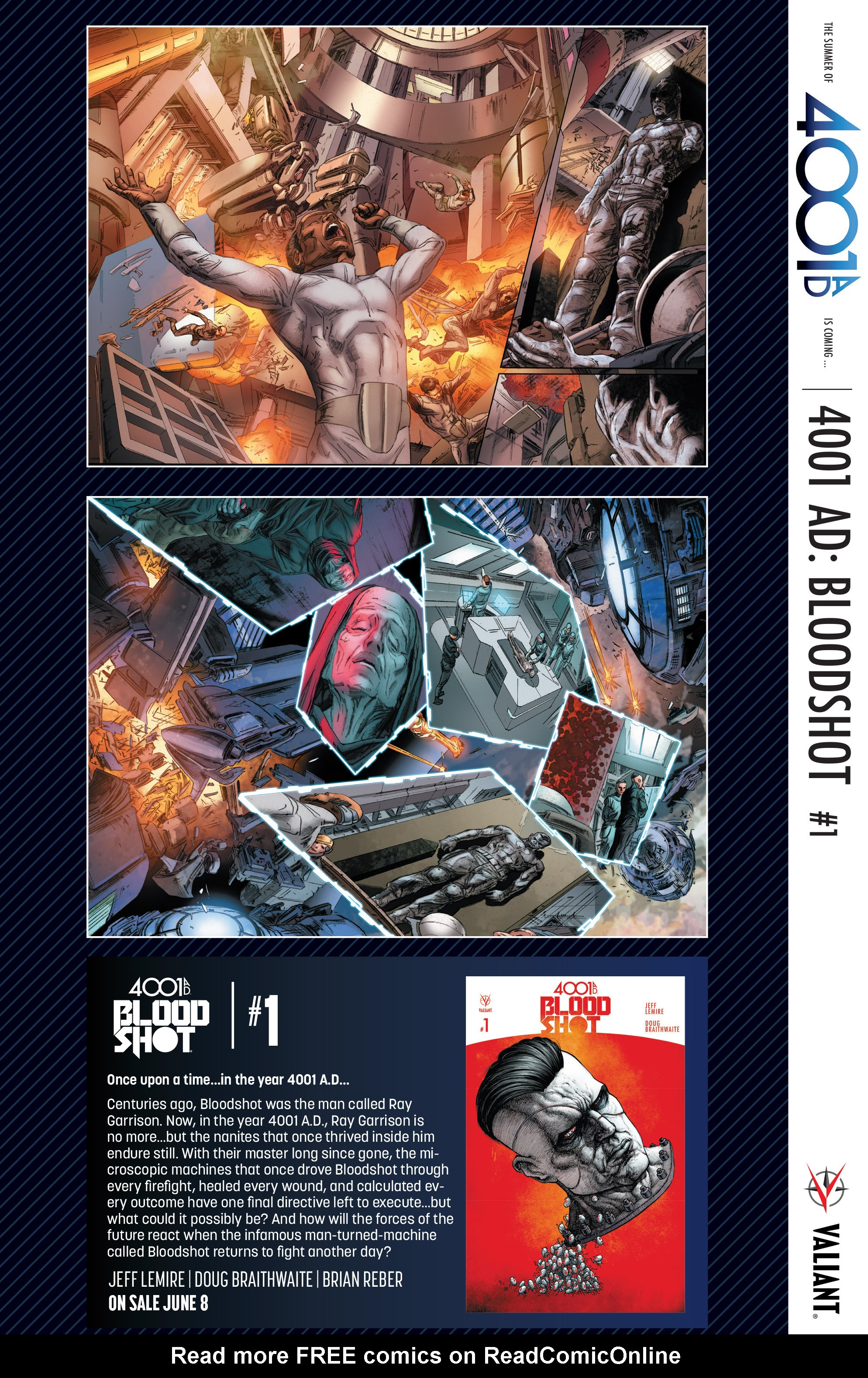 Read online 4001 A.D. comic -  Issue #1 - 35